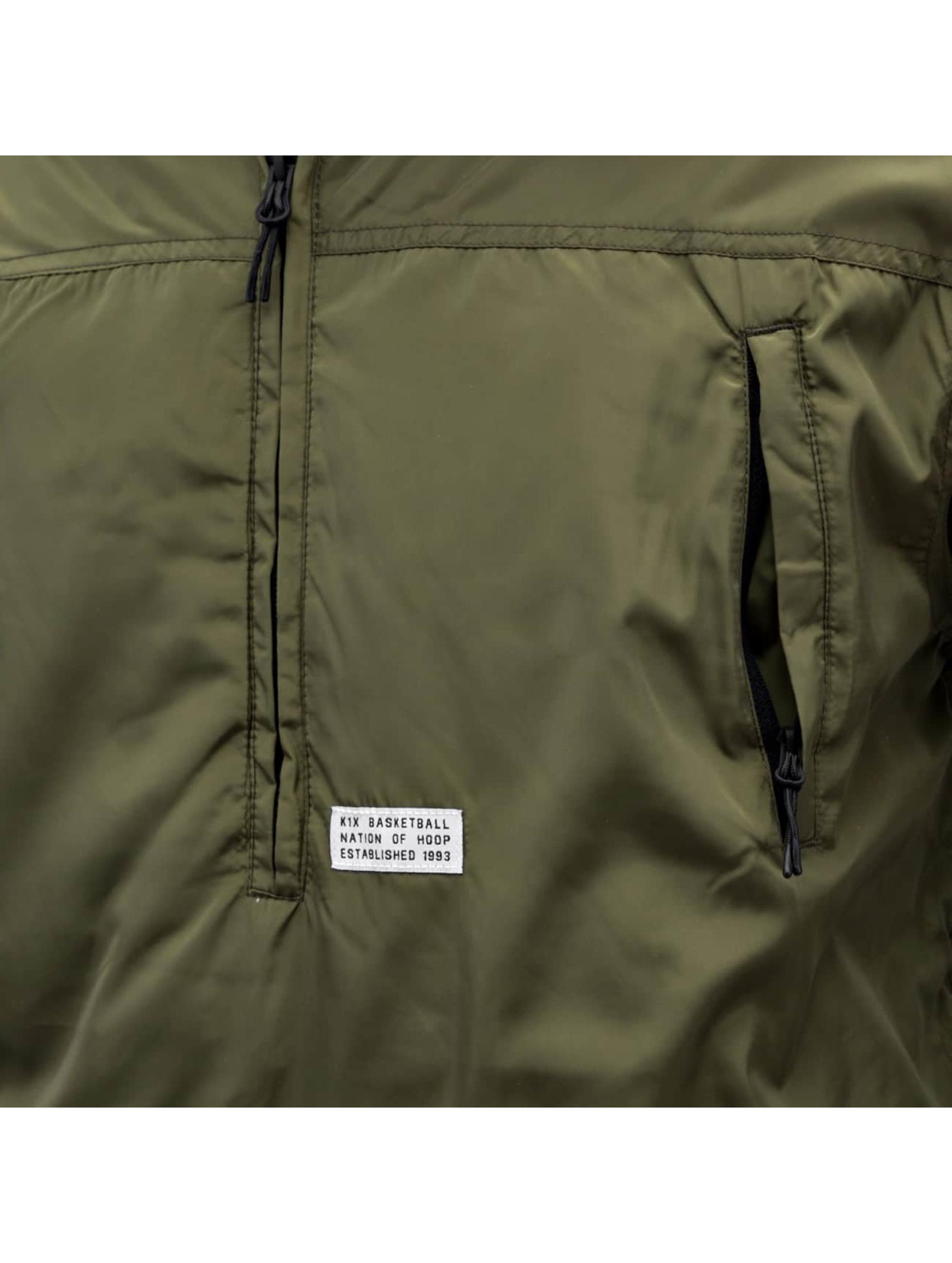 K1X Veste mi-saison légère Urban Hooded olive