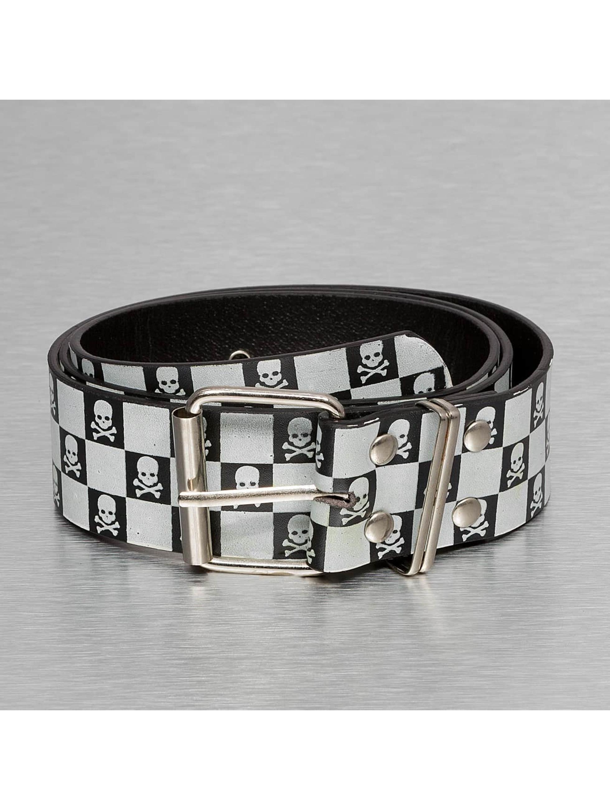 Kaiser Jewelry Gürtel Skull schwarz