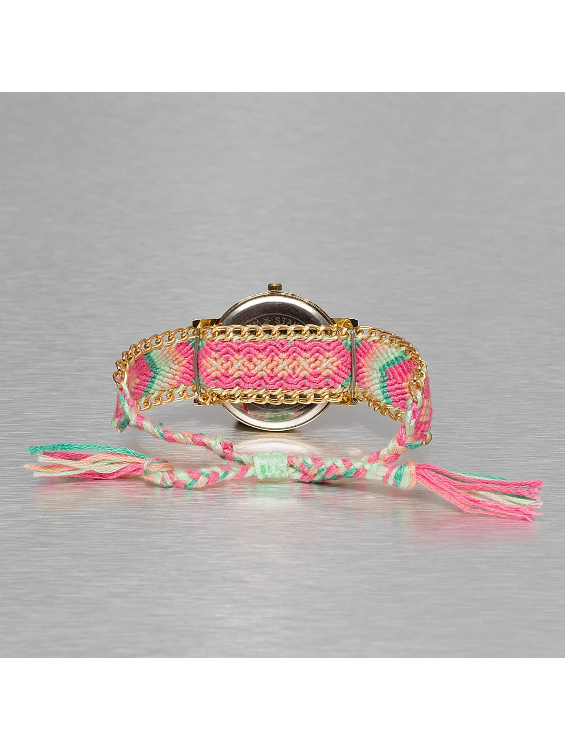 Kaiser Jewelry Montre Textil magenta