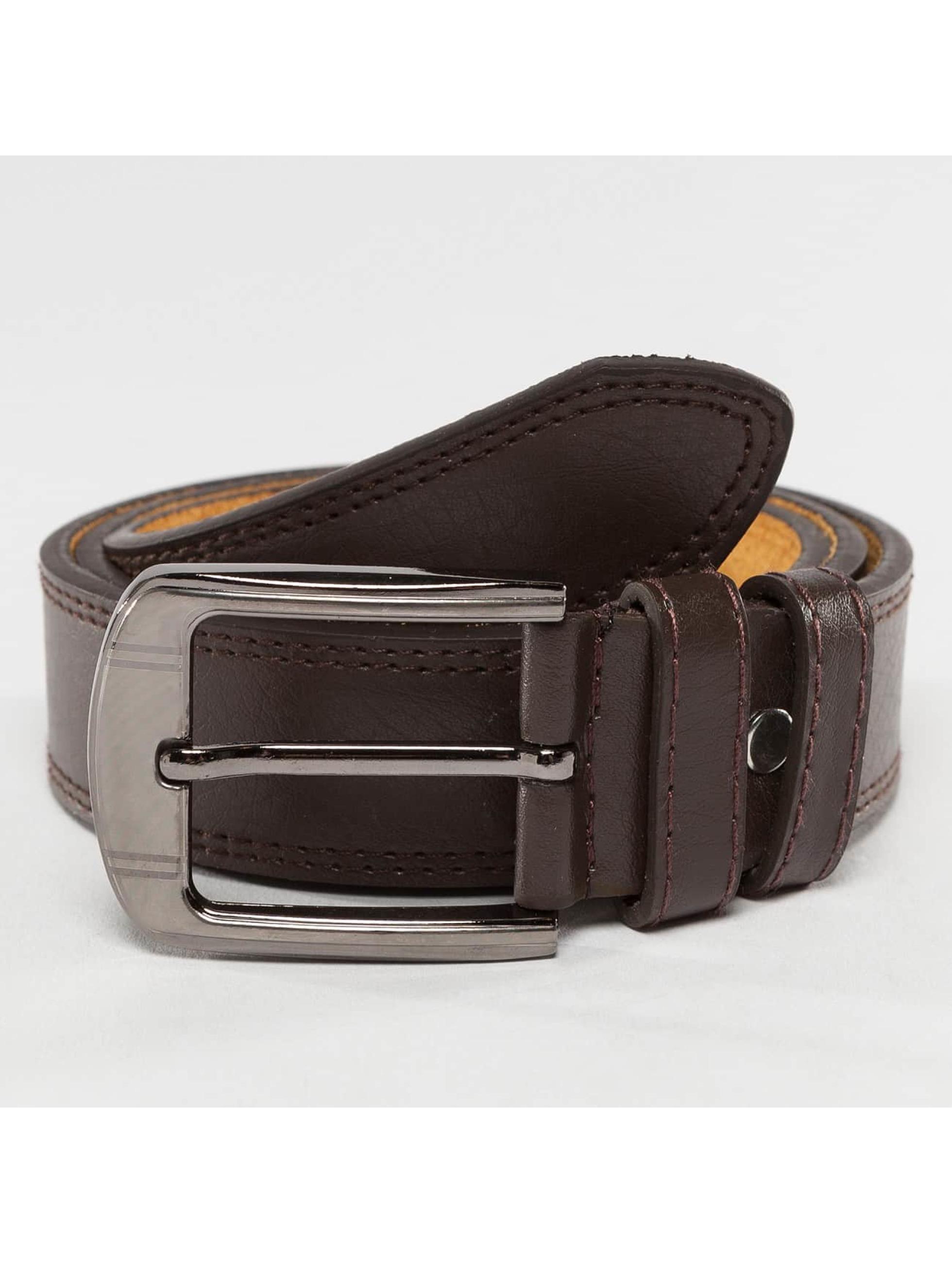 Kaiser Jewelry Paski Leather brazowy