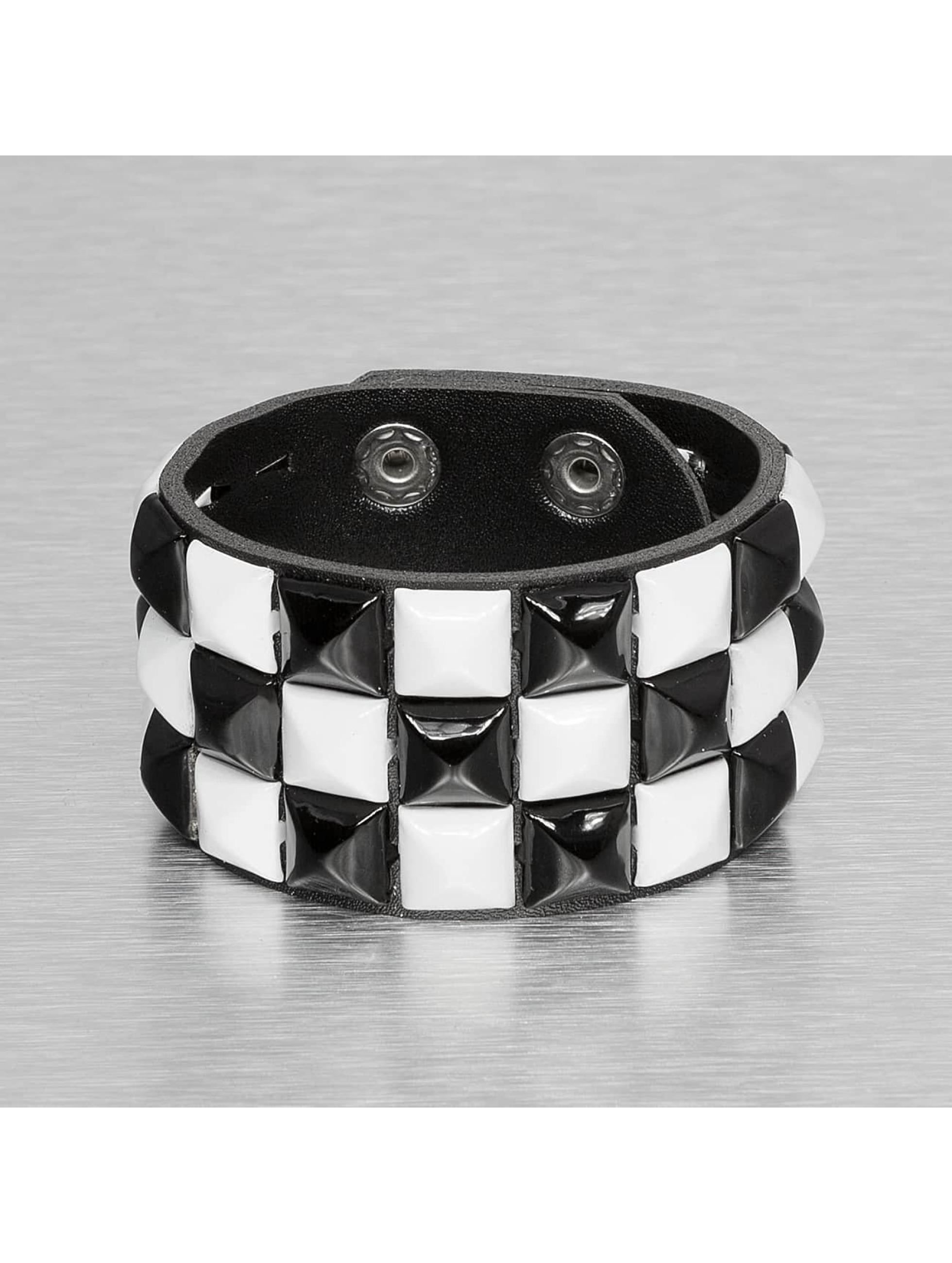 Kaiser Jewelry Rannekorut 3 Row valkoinen