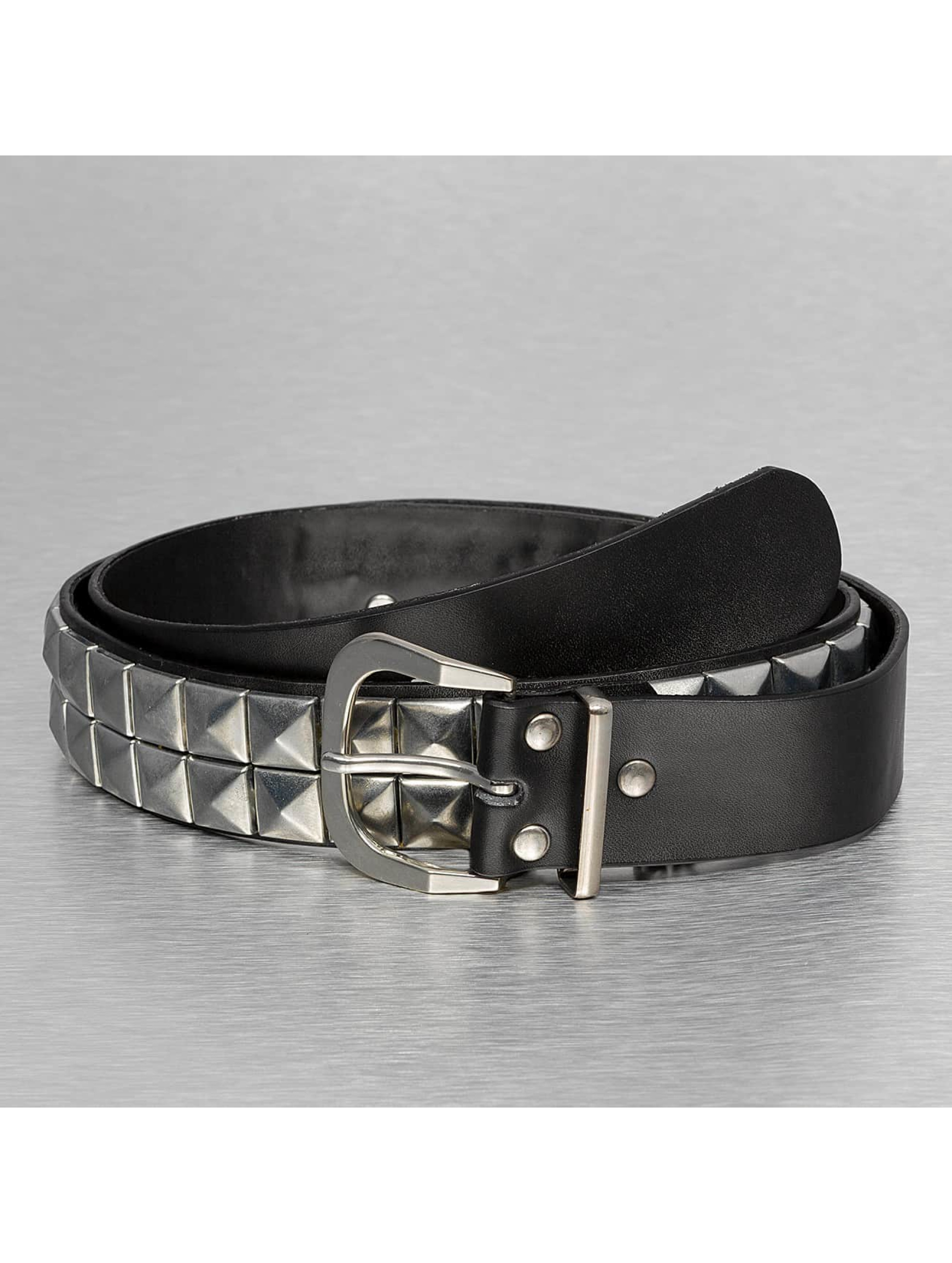Kaiser Jewelry riem 2 Row Chain zwart