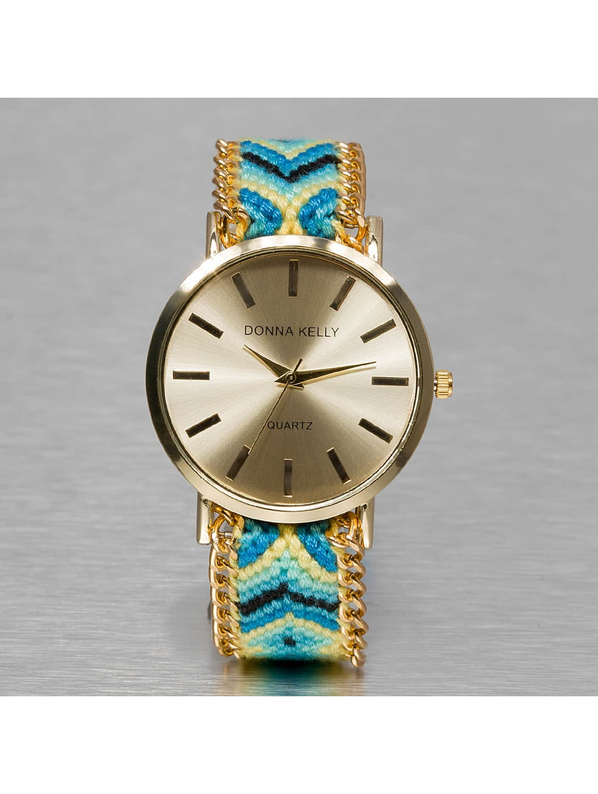 Kaiser Jewelry Uhr Textil blau