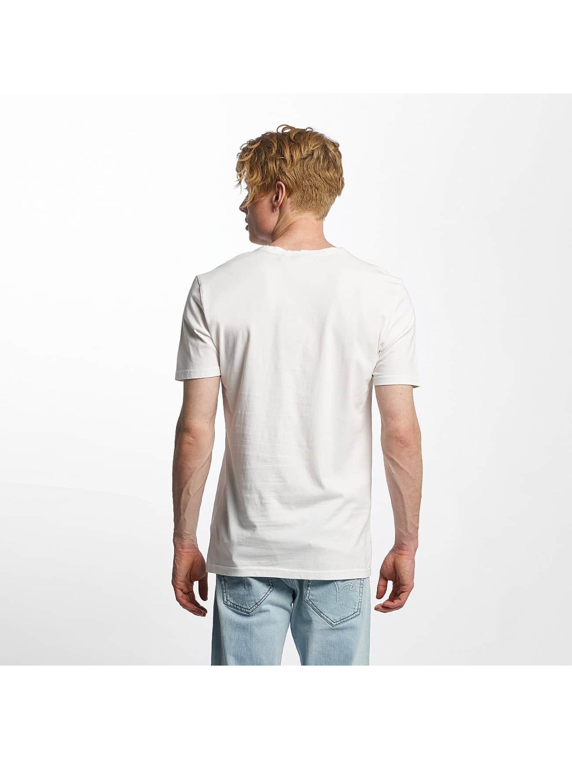 Kaporal keep living blanc homme t shirt kaporal acheter - Tee shirt kaporal pas cher homme ...