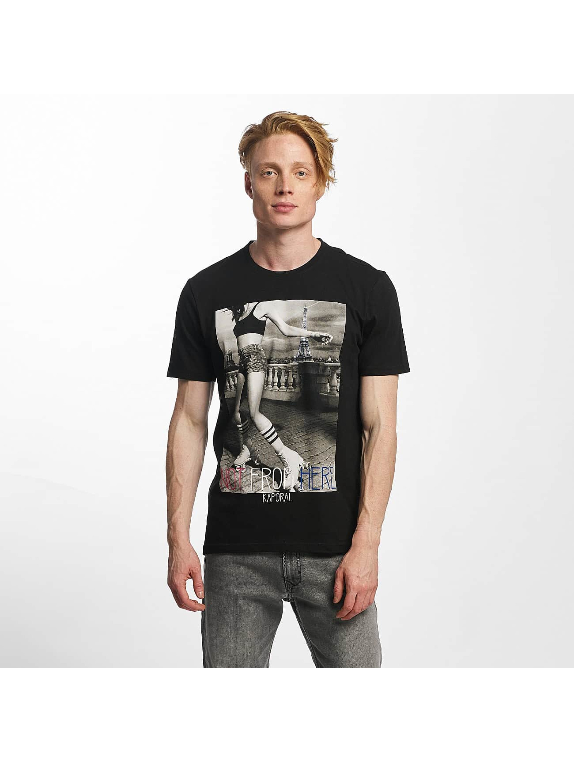Kaporal Not From Here noir T-Shirt homme