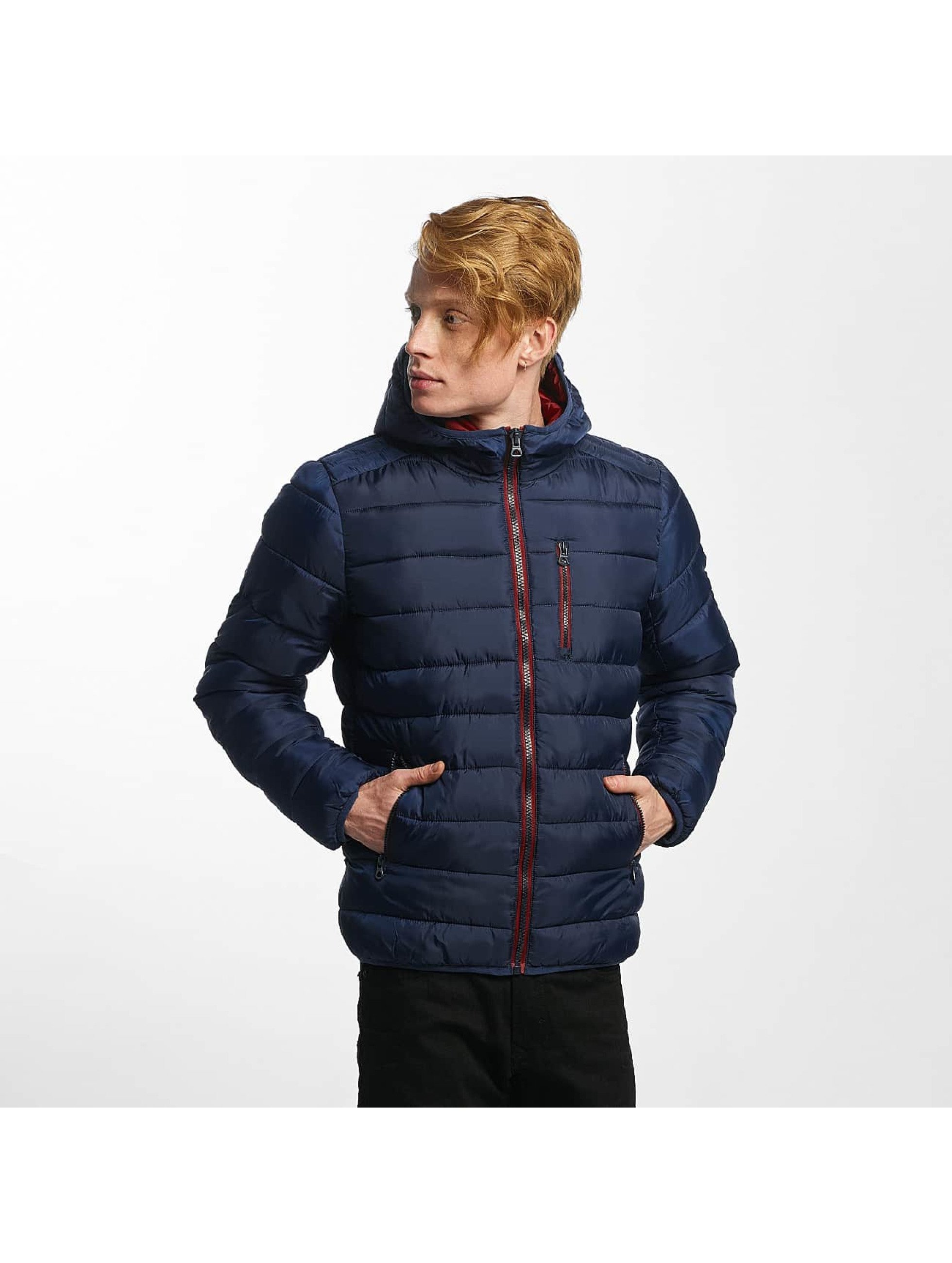 Kaporal heren winterjas Cocoon Out - blauw