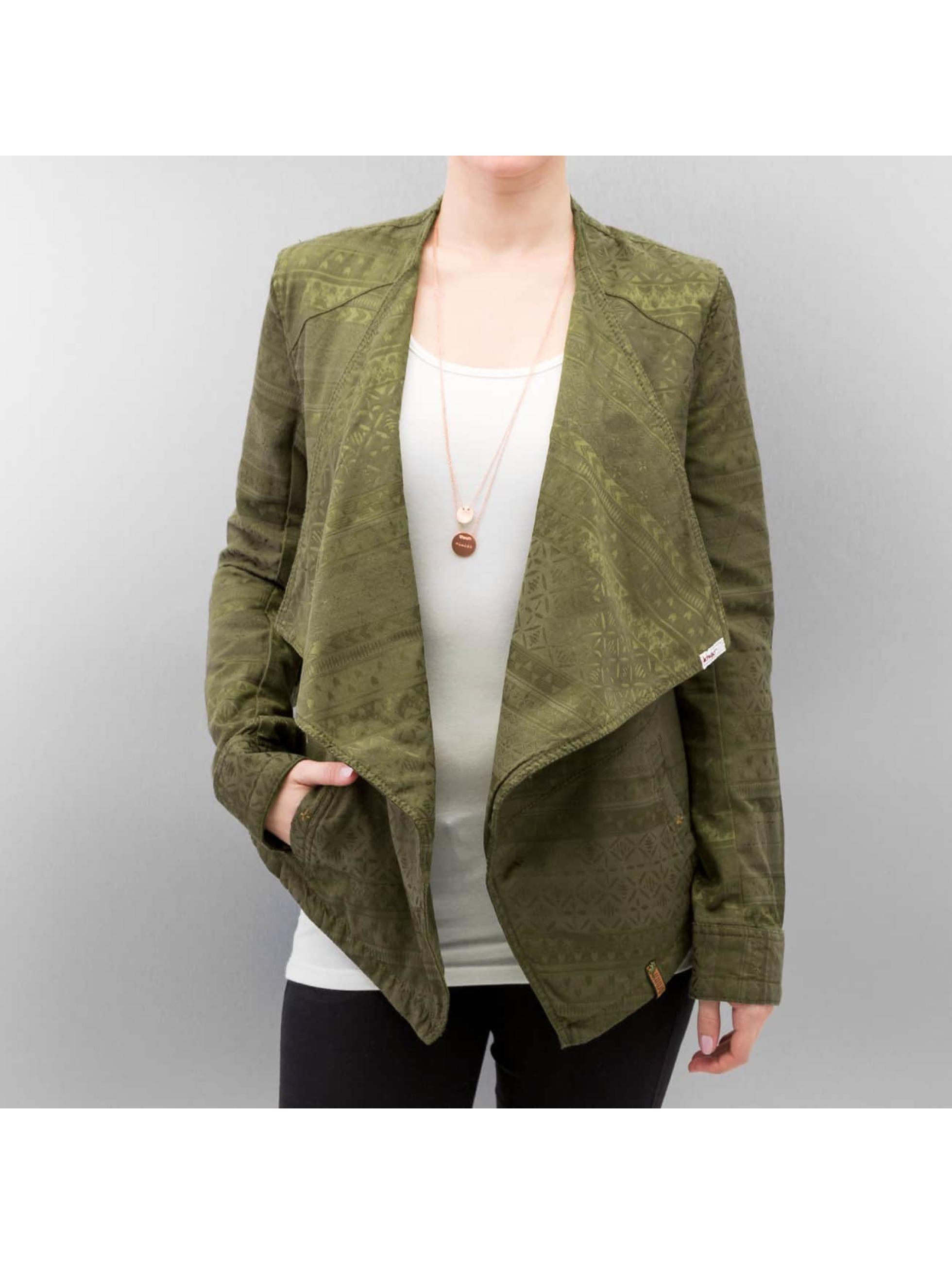 Khujo Демисезонная куртка Rack оливковый
