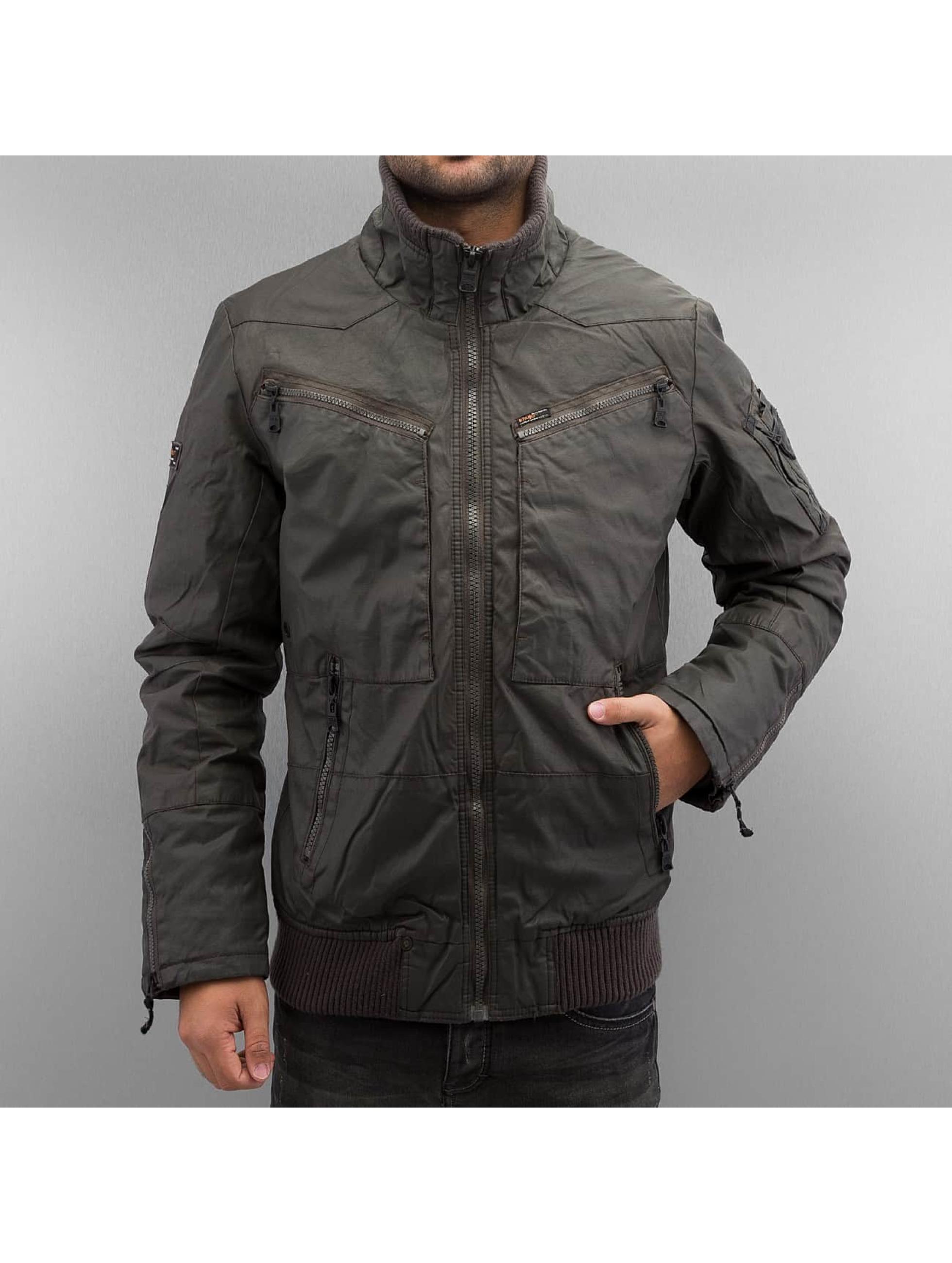 Khujo Зимняя куртка Anrik серый