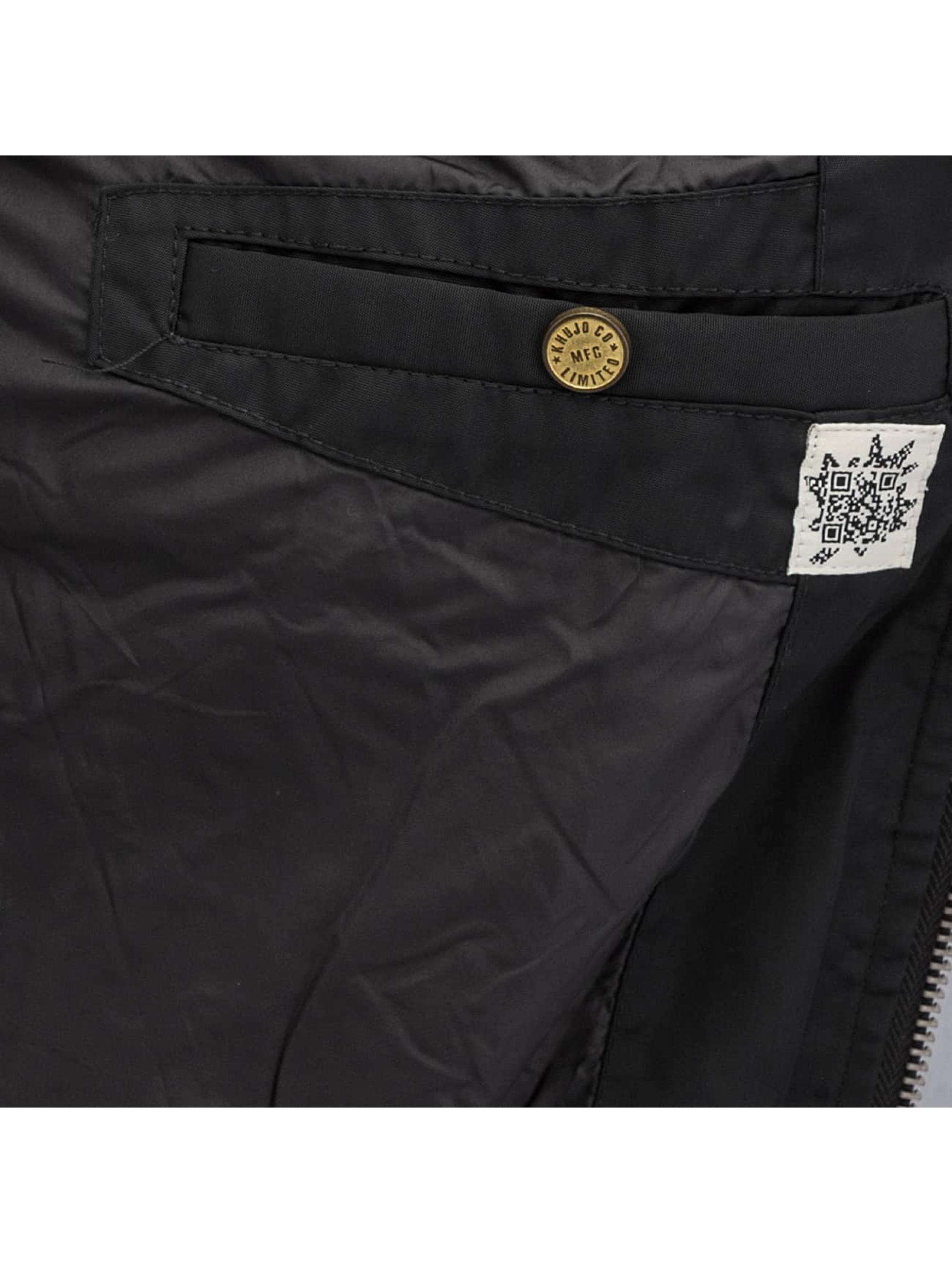 Khujo Куртка-бомбардир Mitch черный