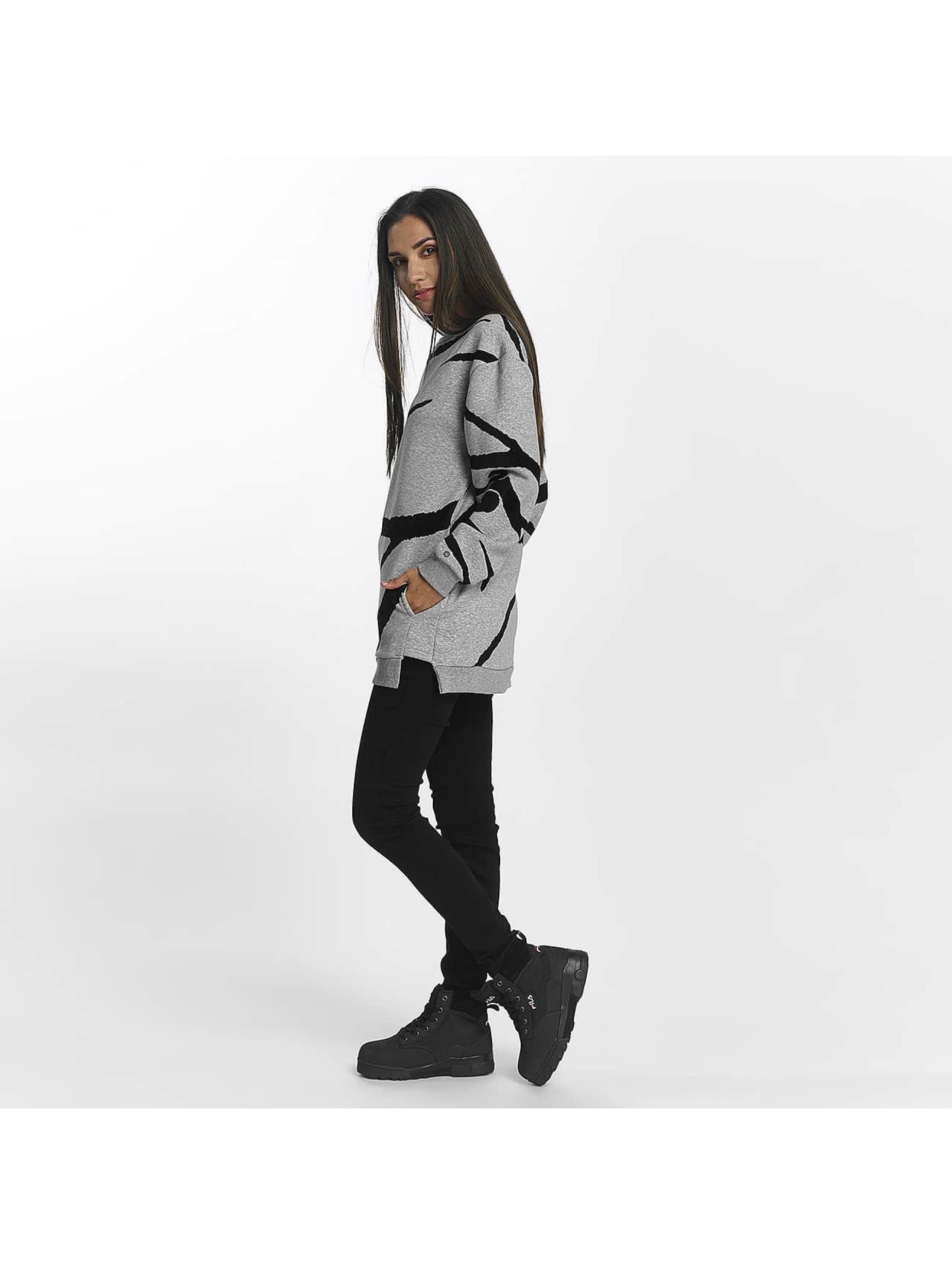 Khujo Пуловер Malisa серый