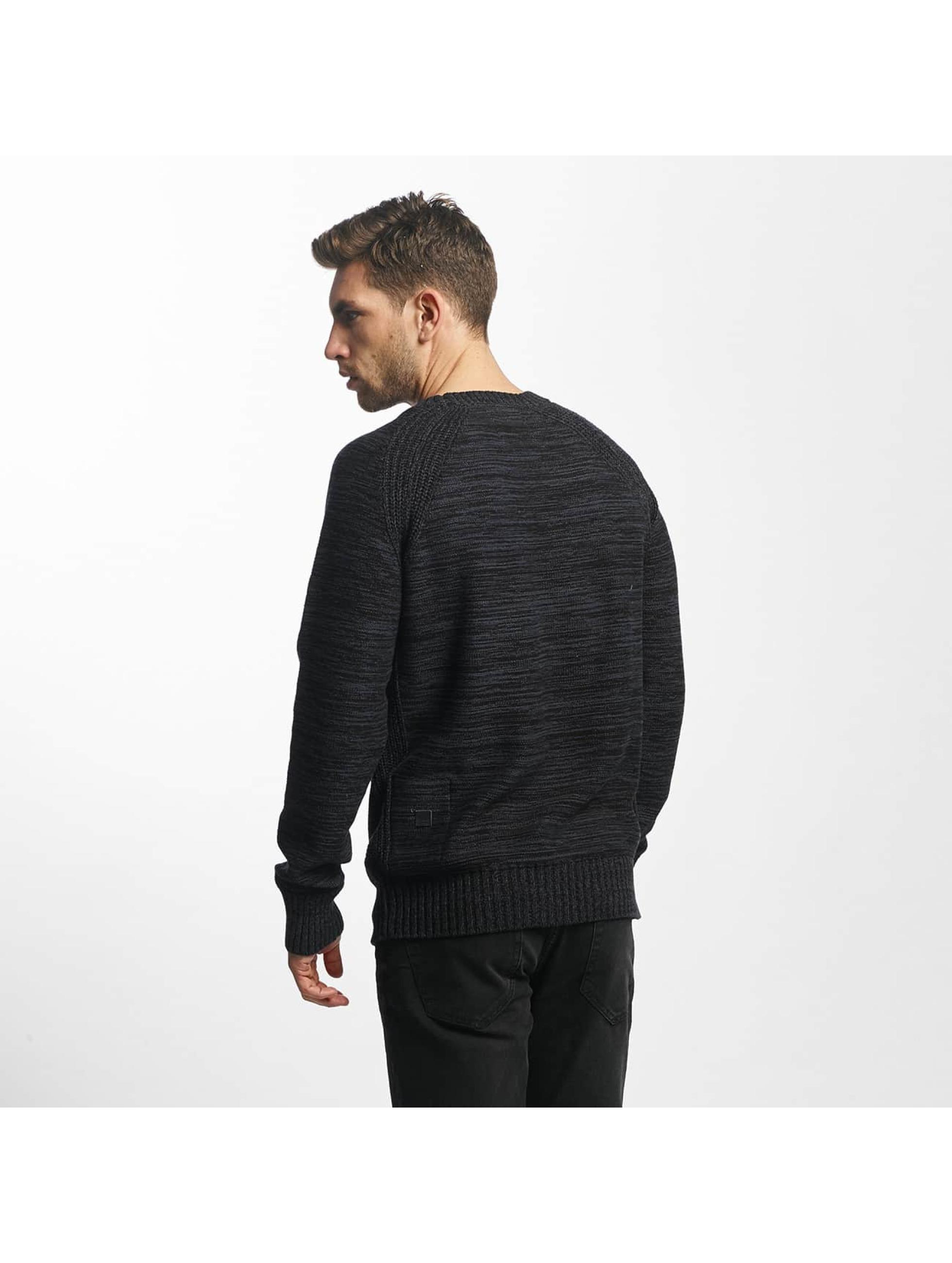 Khujo Пуловер Percy Knit черный