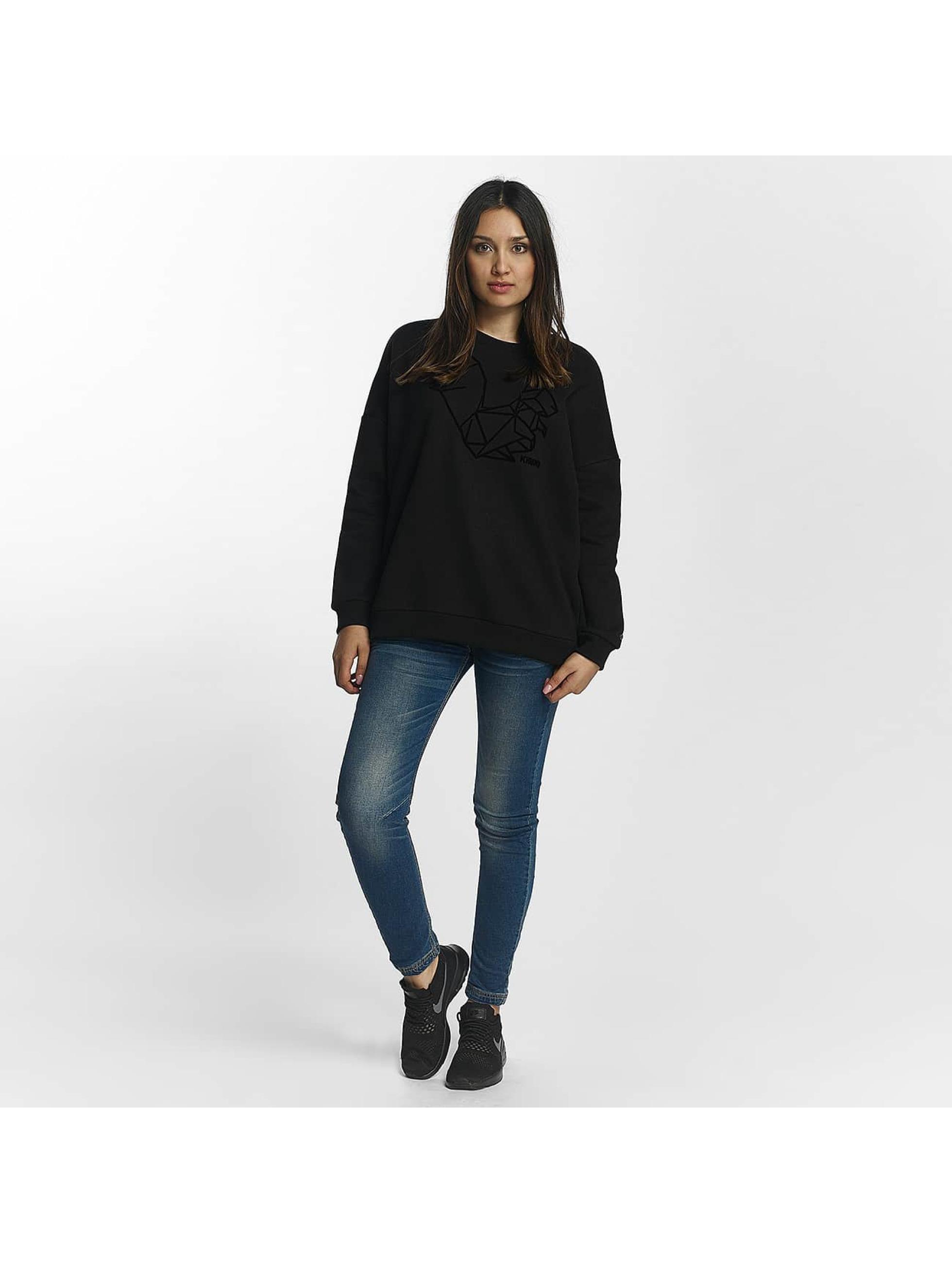 Khujo Пуловер Marita черный