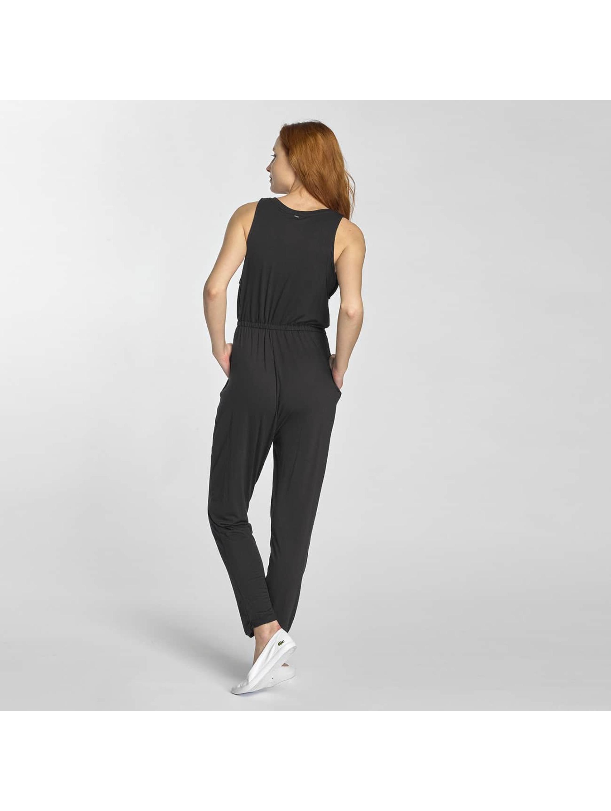 khujo damen jumpsuit necy in schwarz 312832. Black Bedroom Furniture Sets. Home Design Ideas