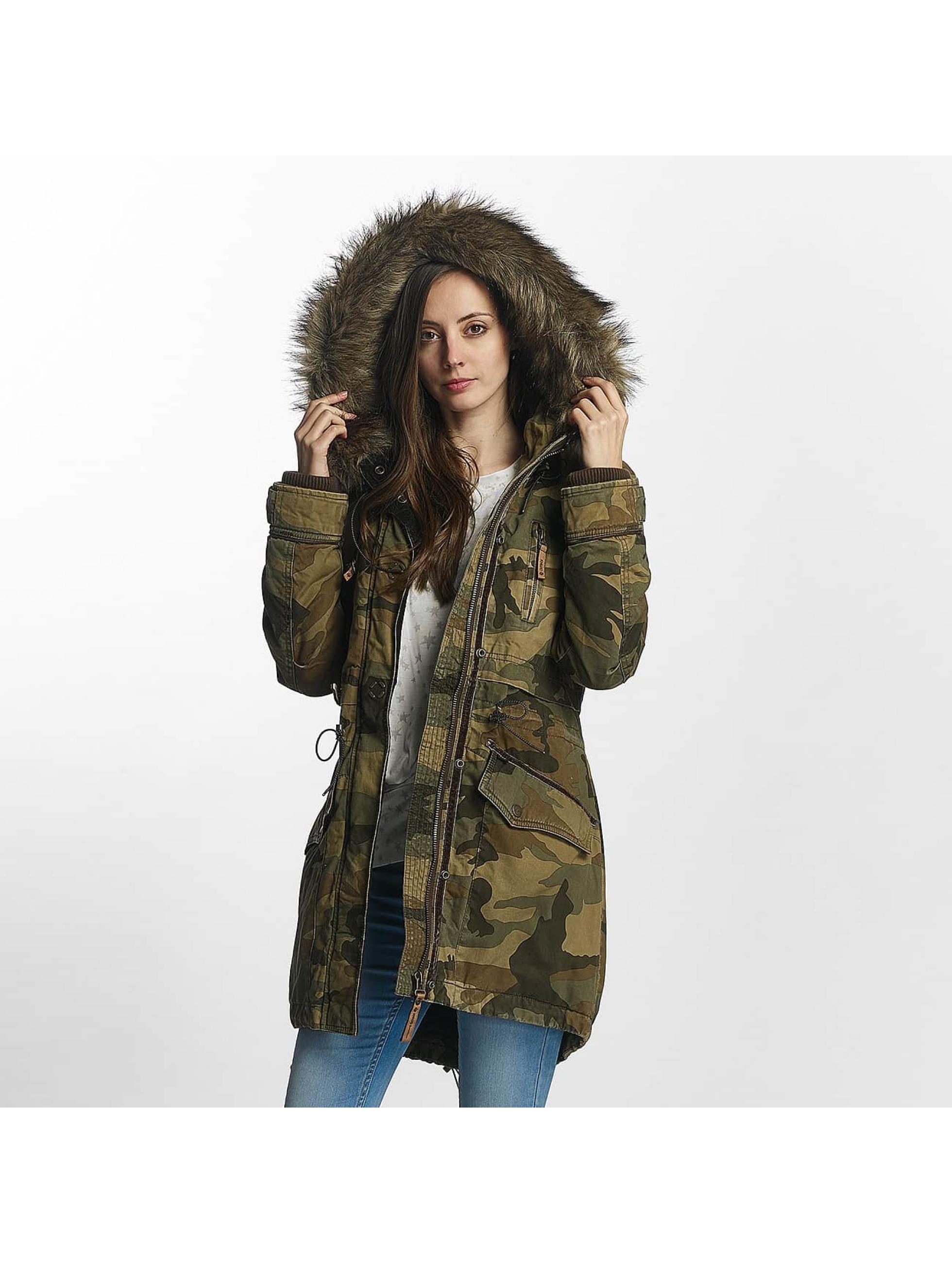 Khujo Lightweight Jacket Freja camouflage