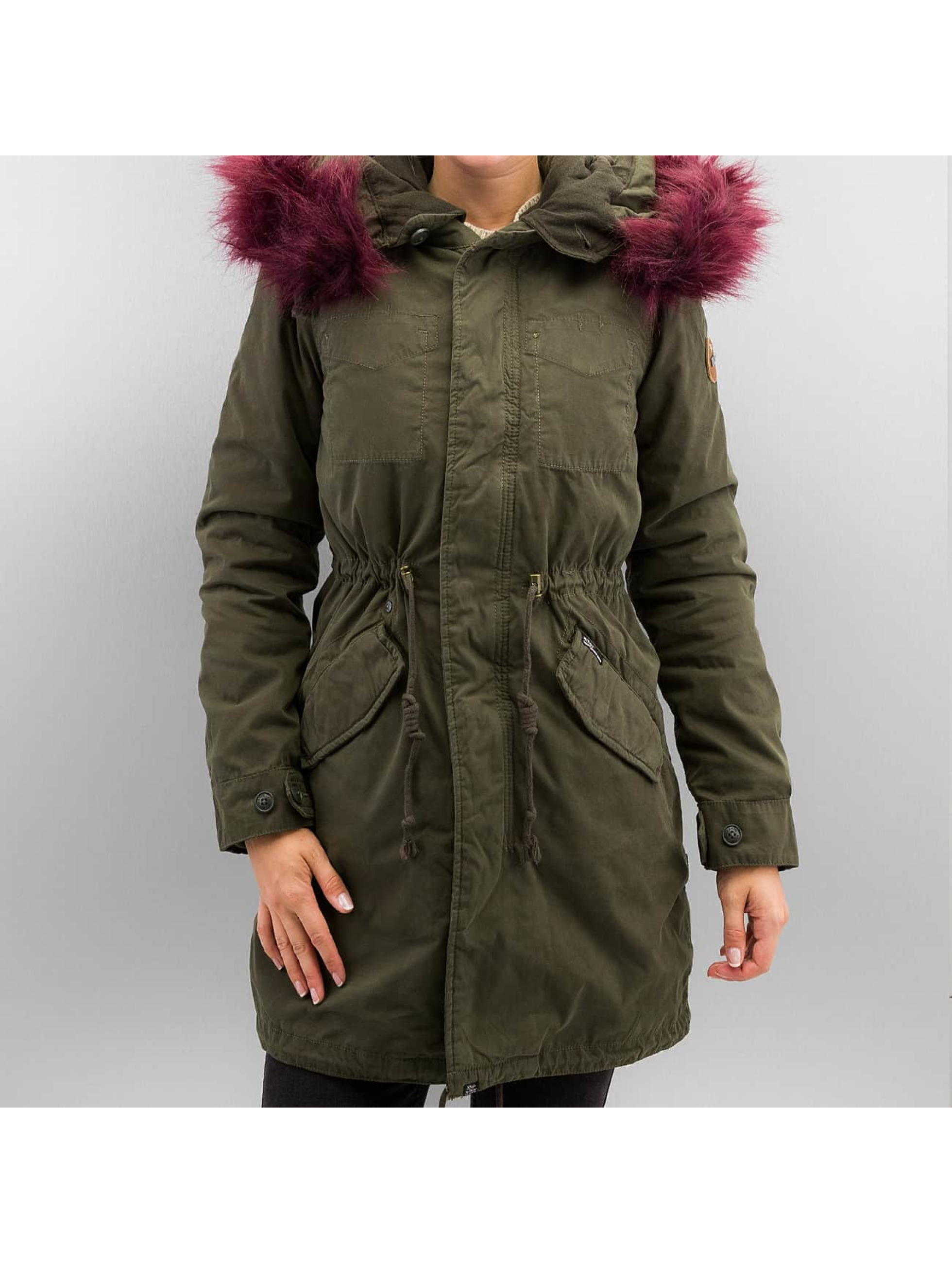 Khujo Manteau Methone olive
