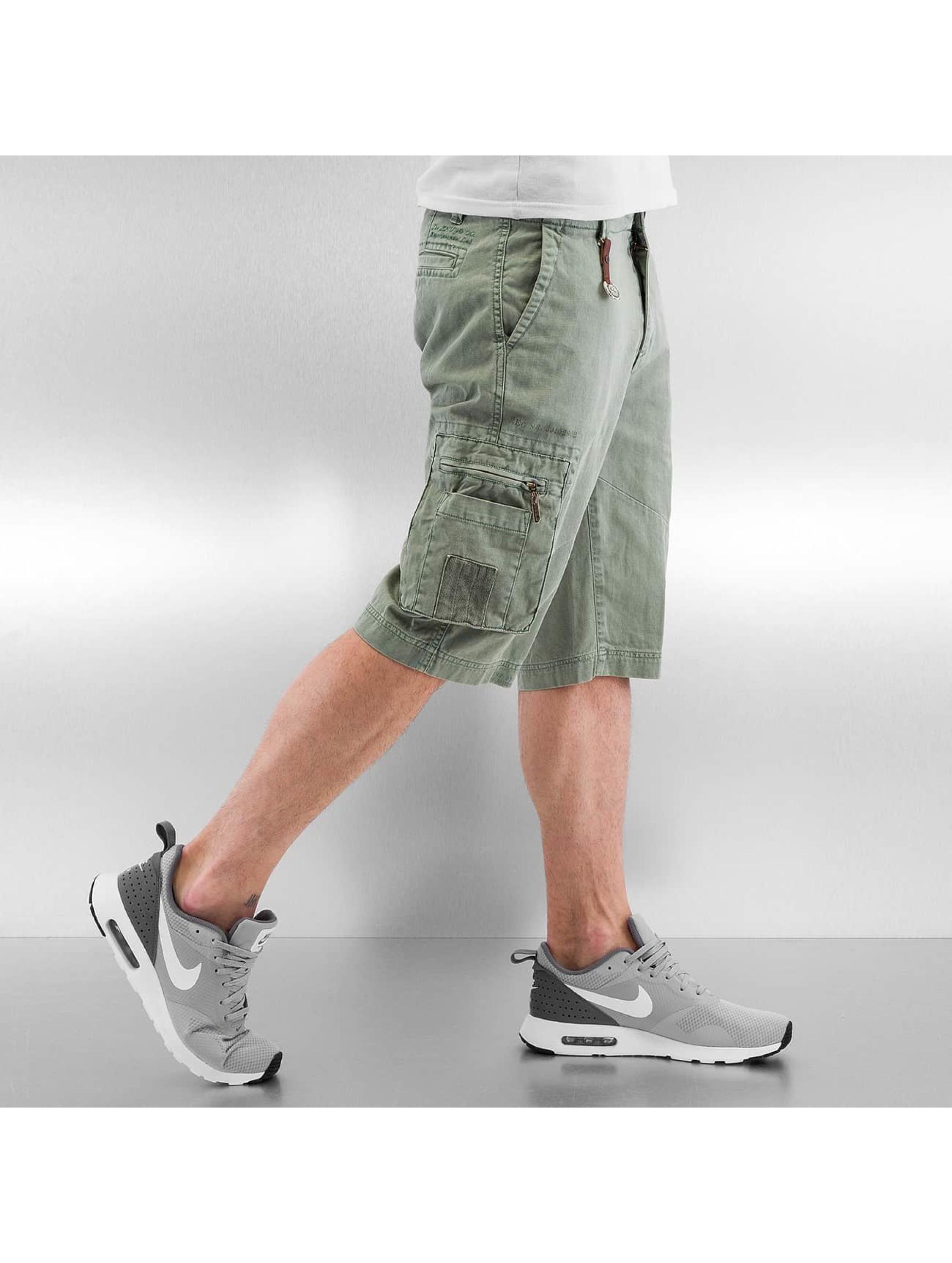 Khujo shorts Cedrik groen