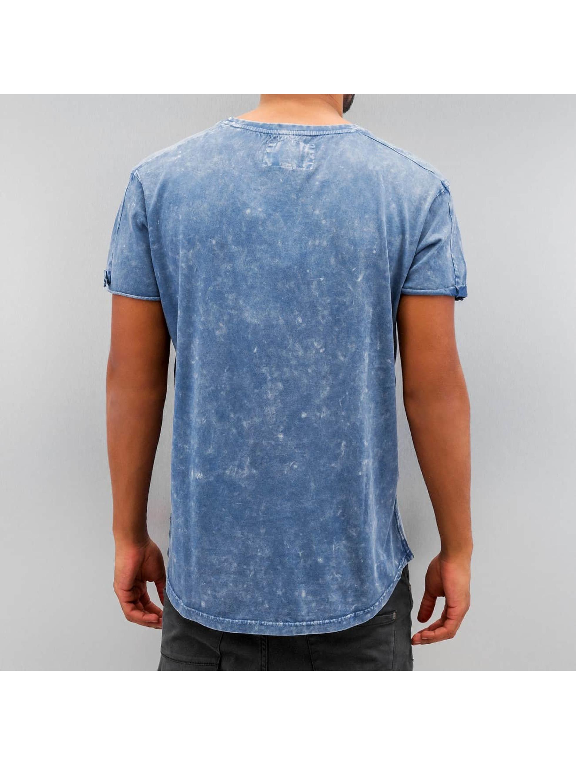 Khujo t-shirt Ulaf blauw