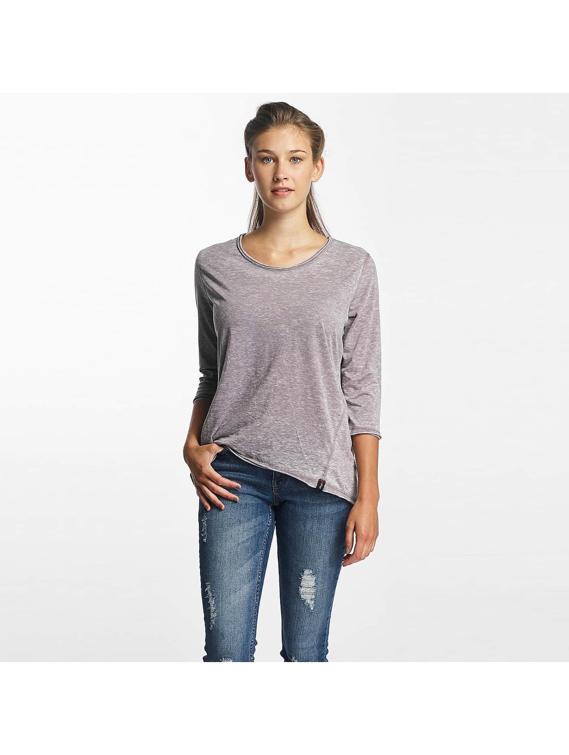 Khujo t-shirt Solveig grijs