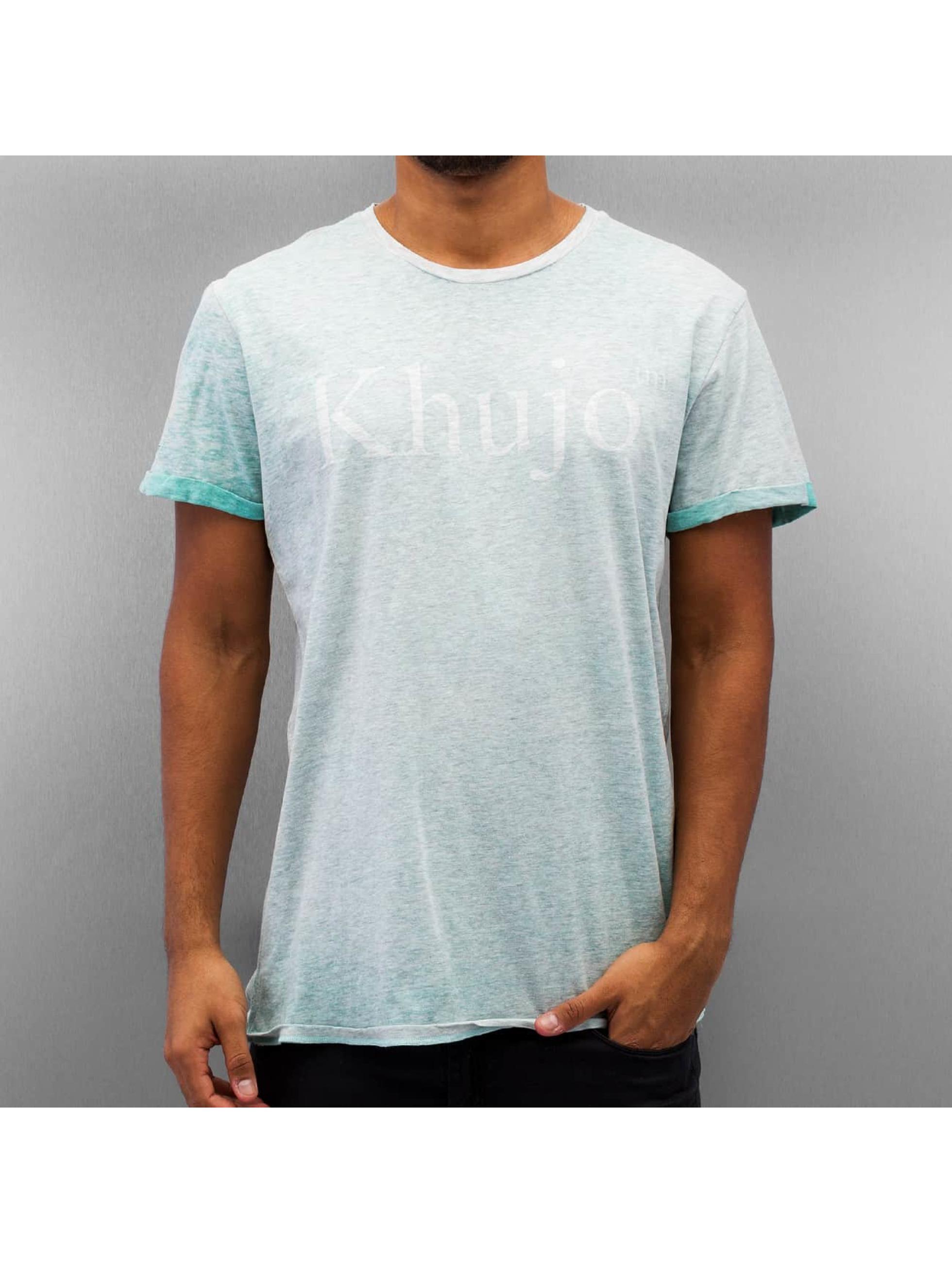 Khujo T-Shirt Treat grün