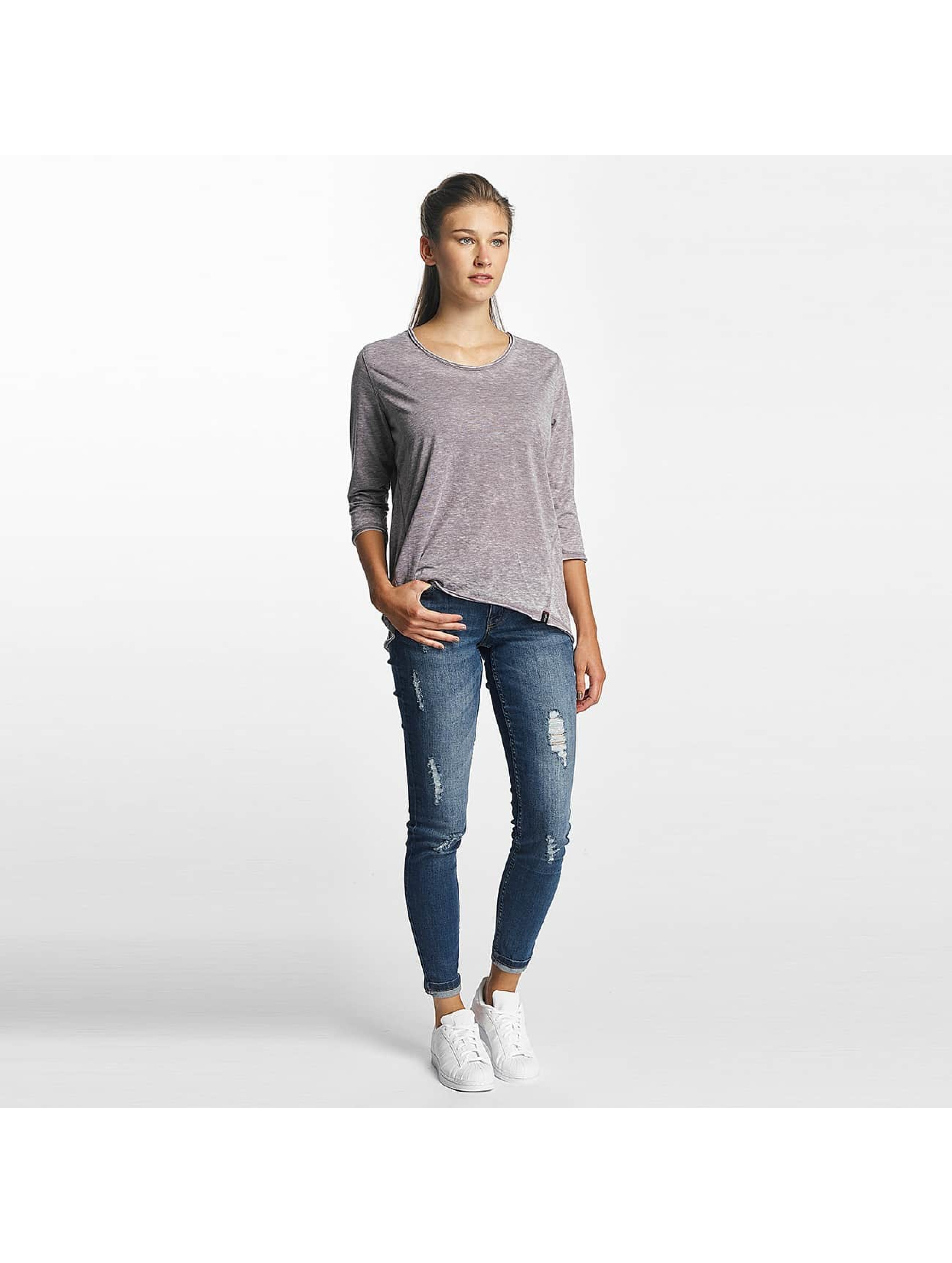 Khujo T-Shirt manches longues Solveig gris