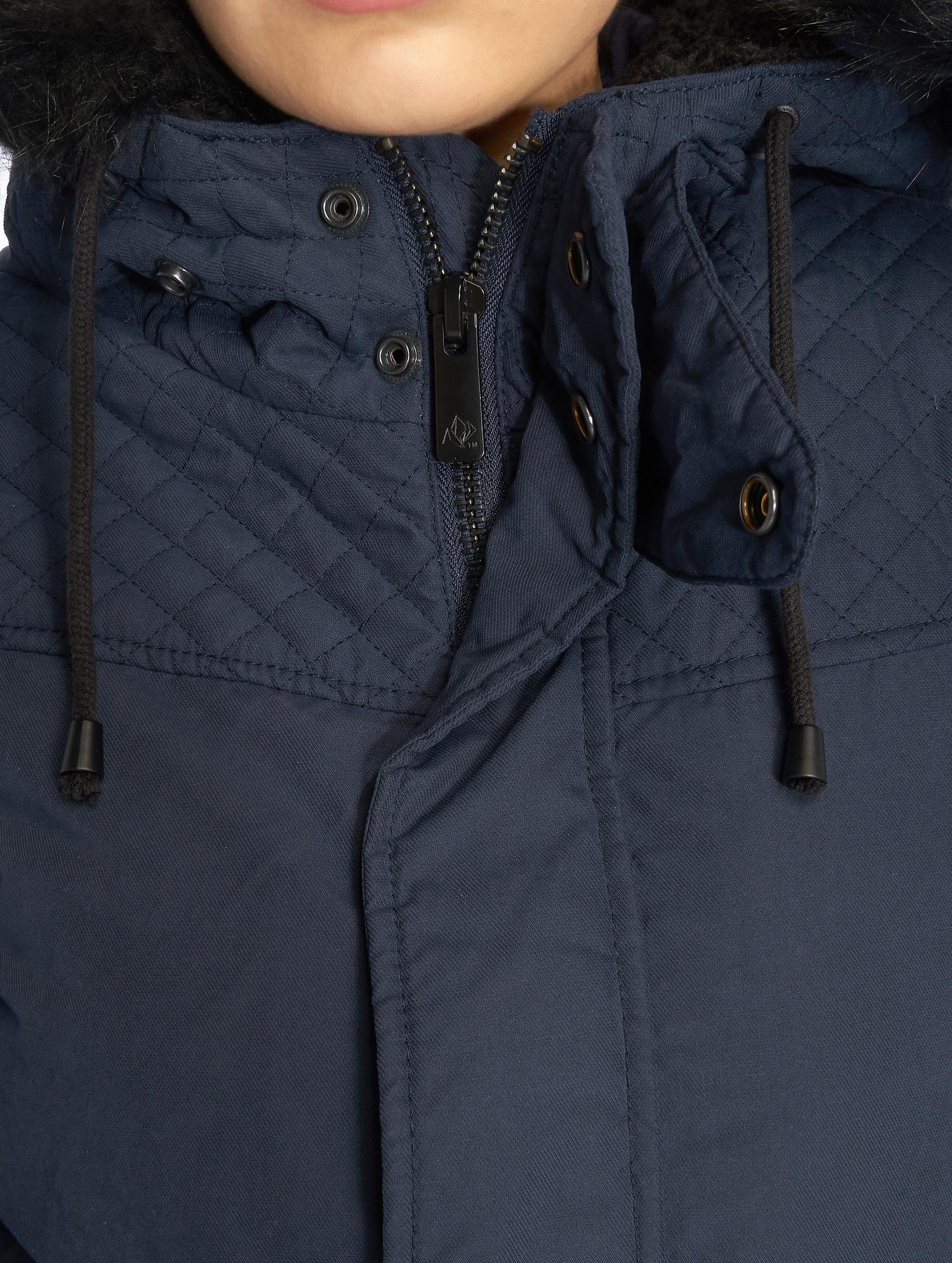 Khujo Transitional Jackets Kourtney blå