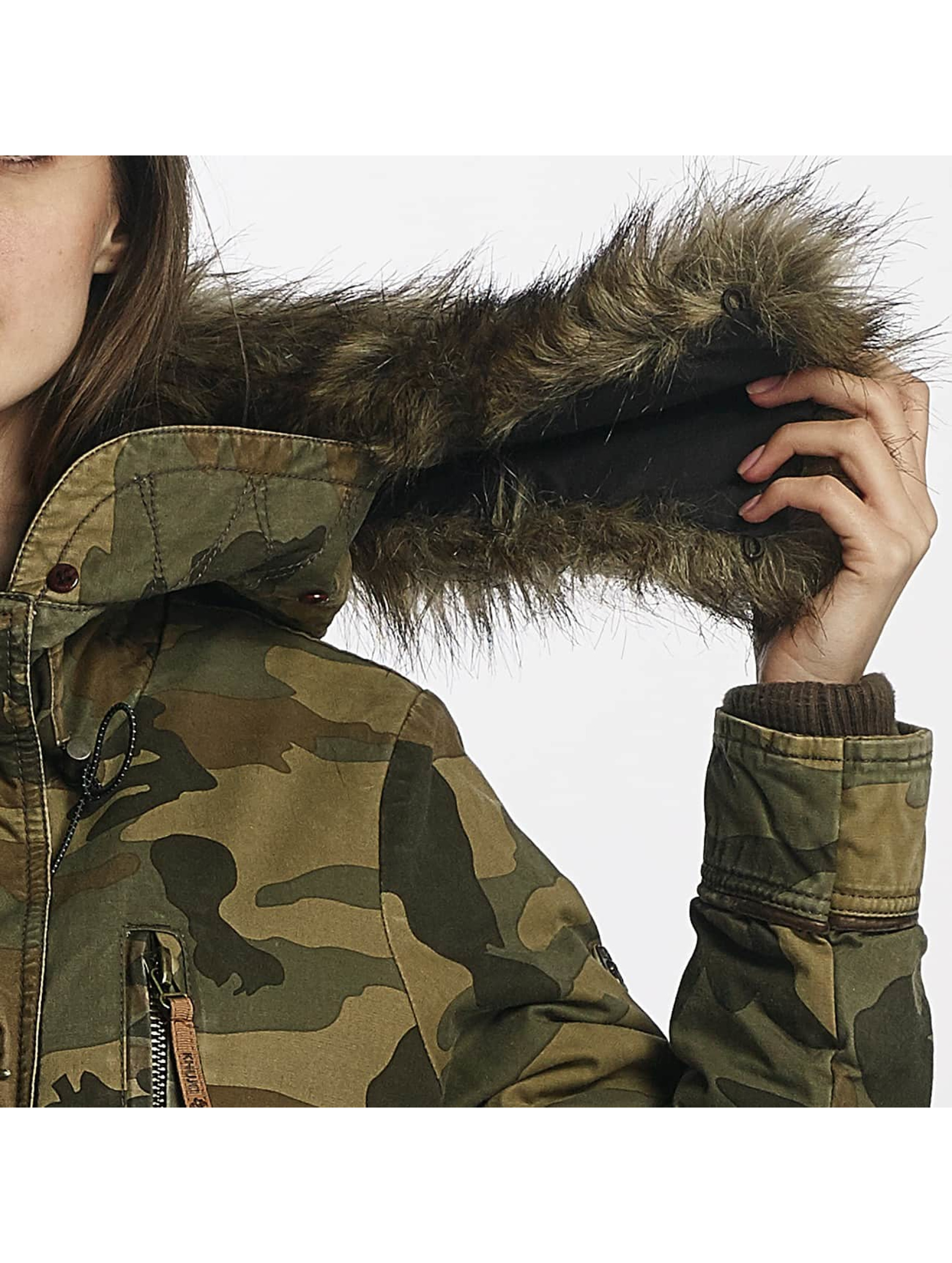Khujo Übergangsjacke Freja camouflage
