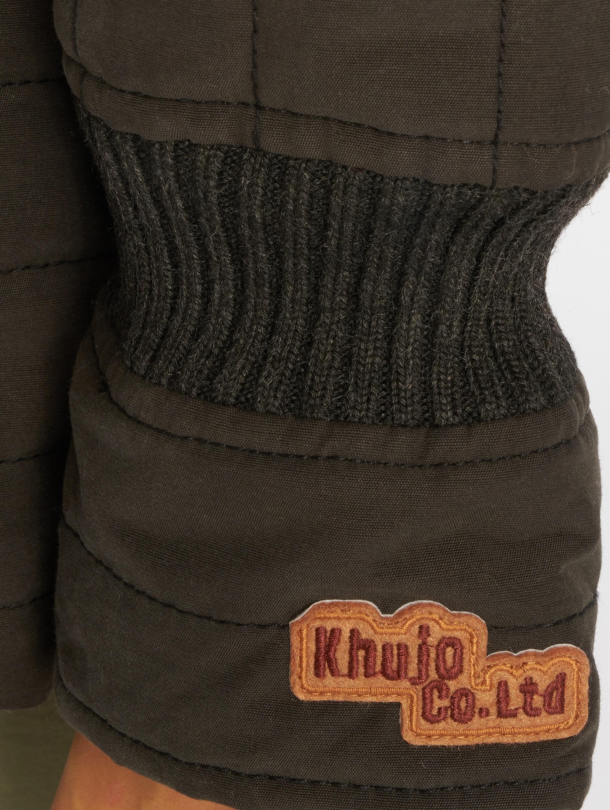 Khujo Vinterjakke Cayus svart