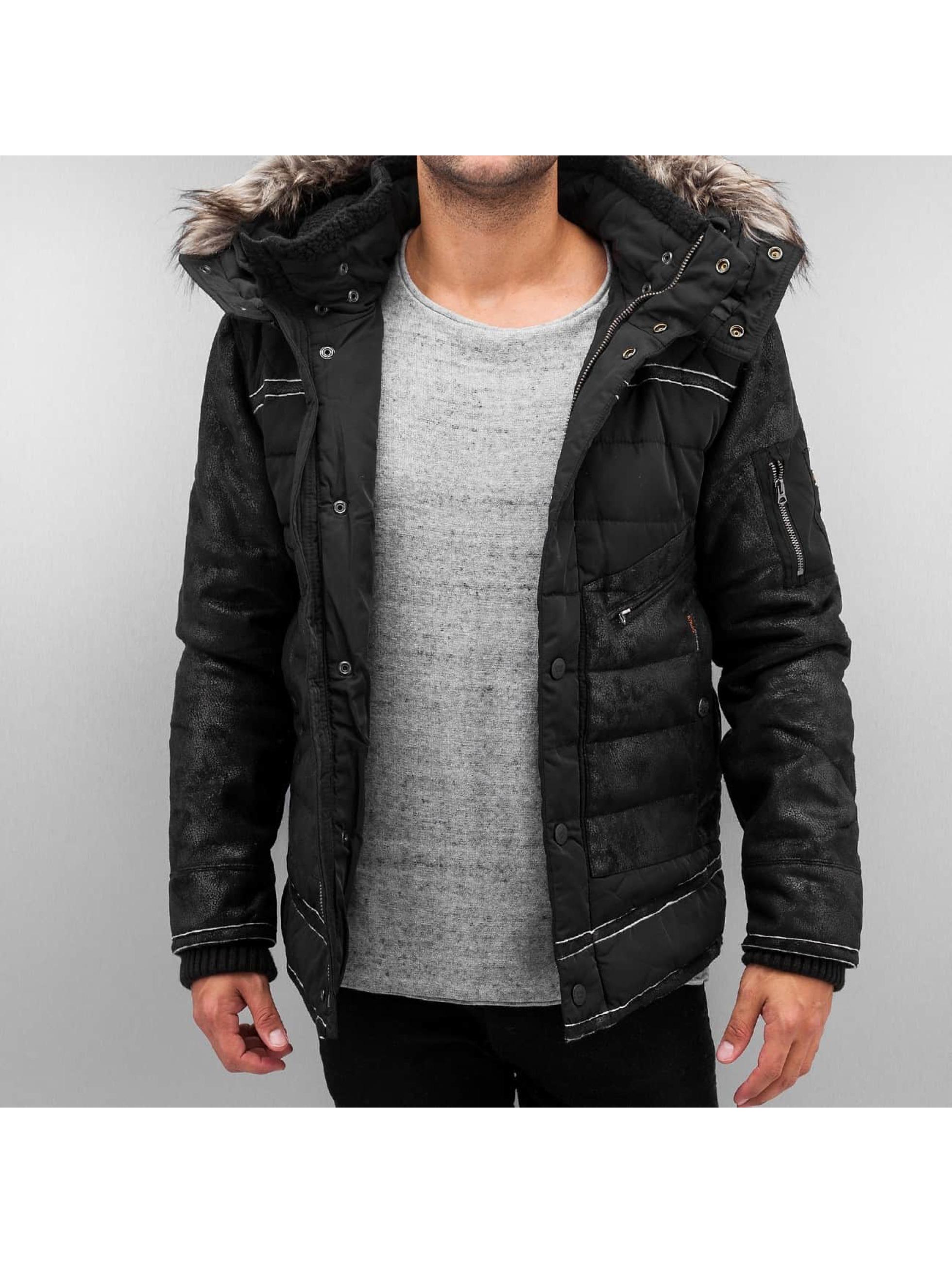 Khujo Winter Jacket Race black