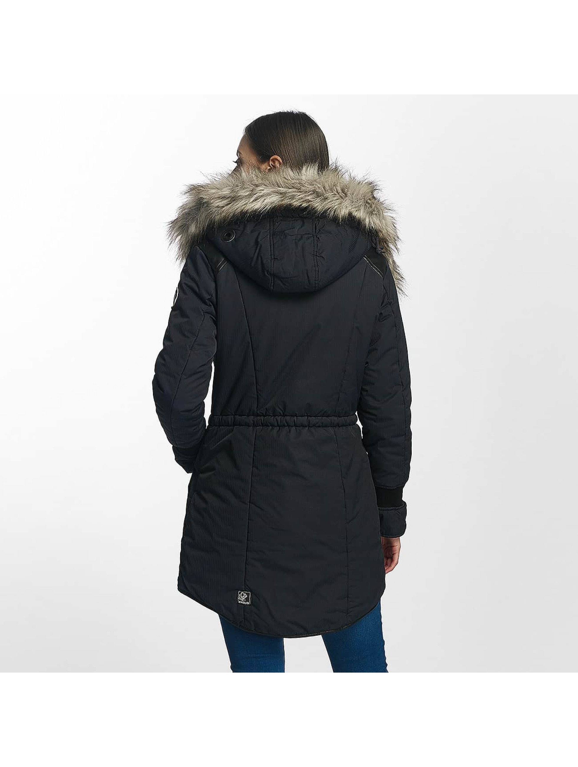Khujo Winter Jacket Retro Bugs blue