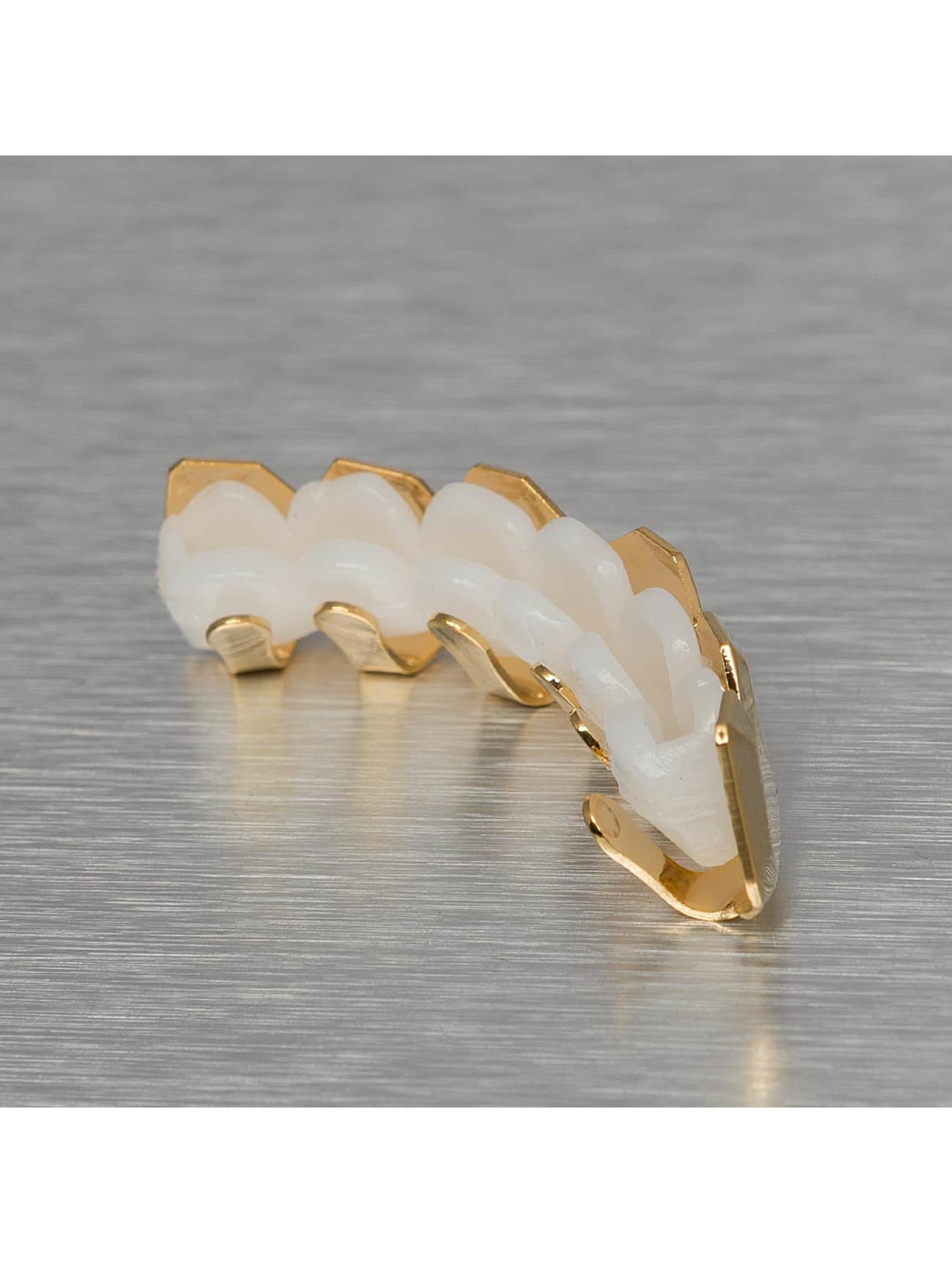 KING ICE Прочее Plain Bevel Edge золото