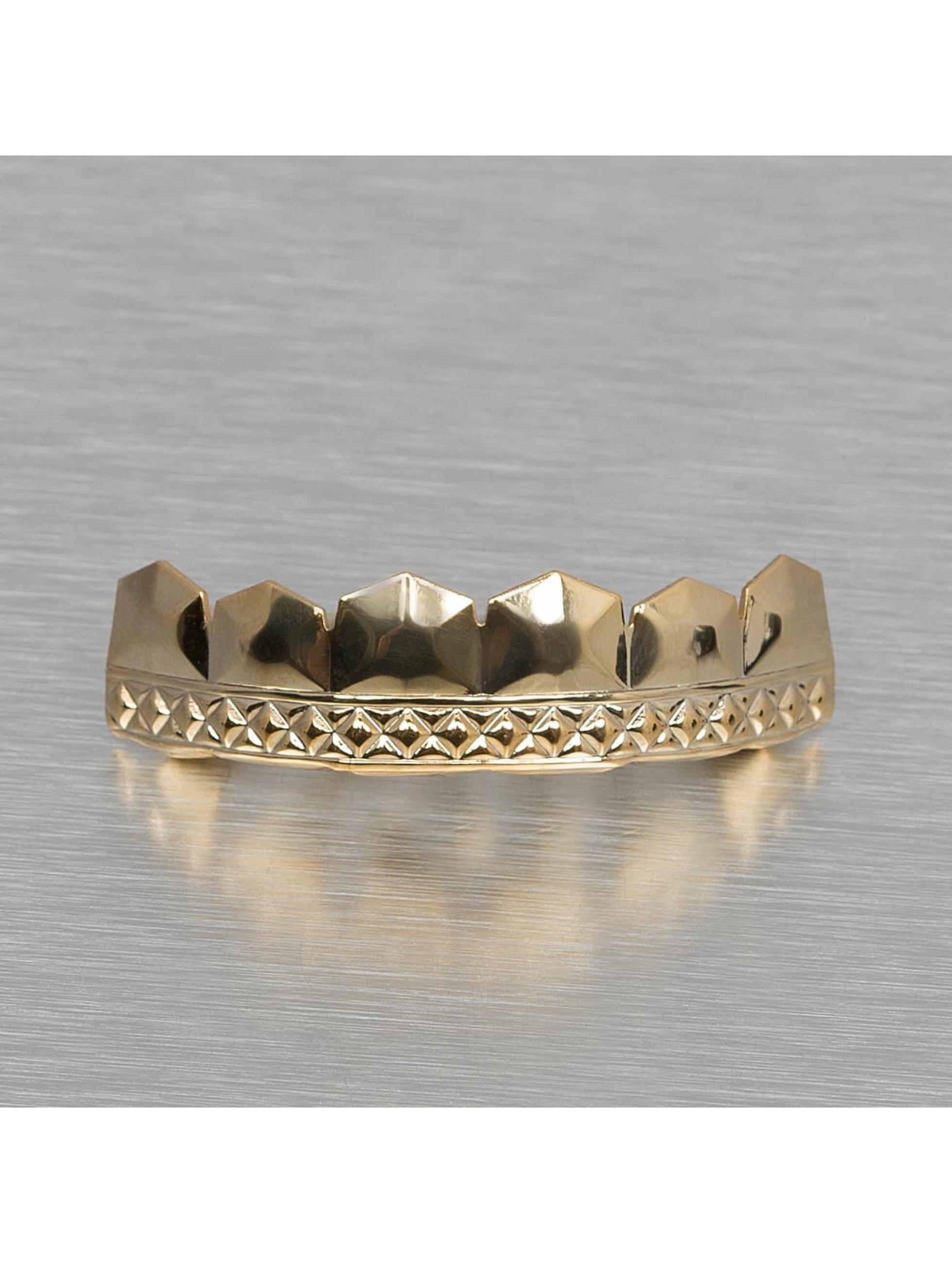 KING ICE Autres Diamond Pattern or