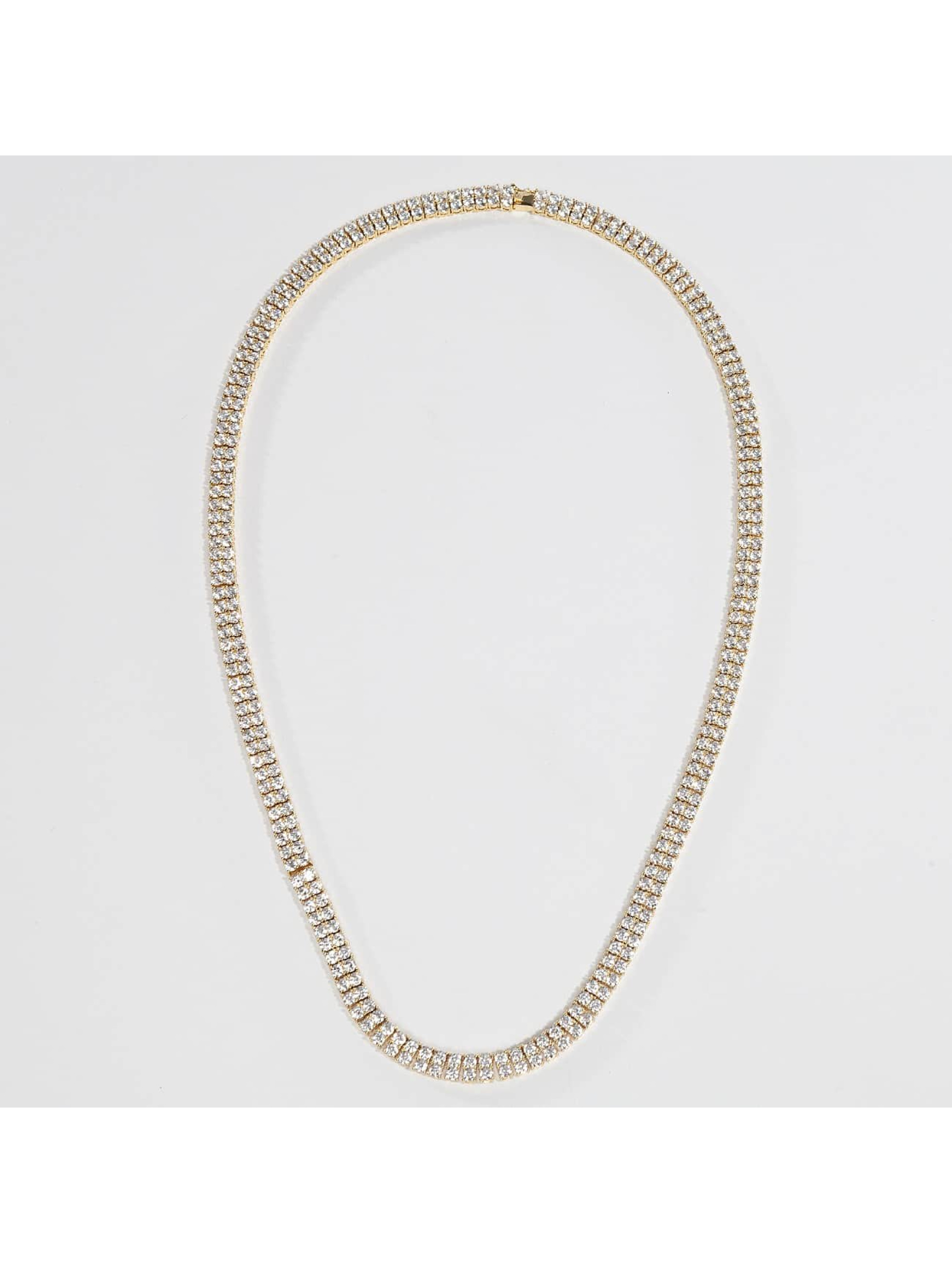 KING ICE Collier Gold_Plated 8mm Dookie Rope Chain or