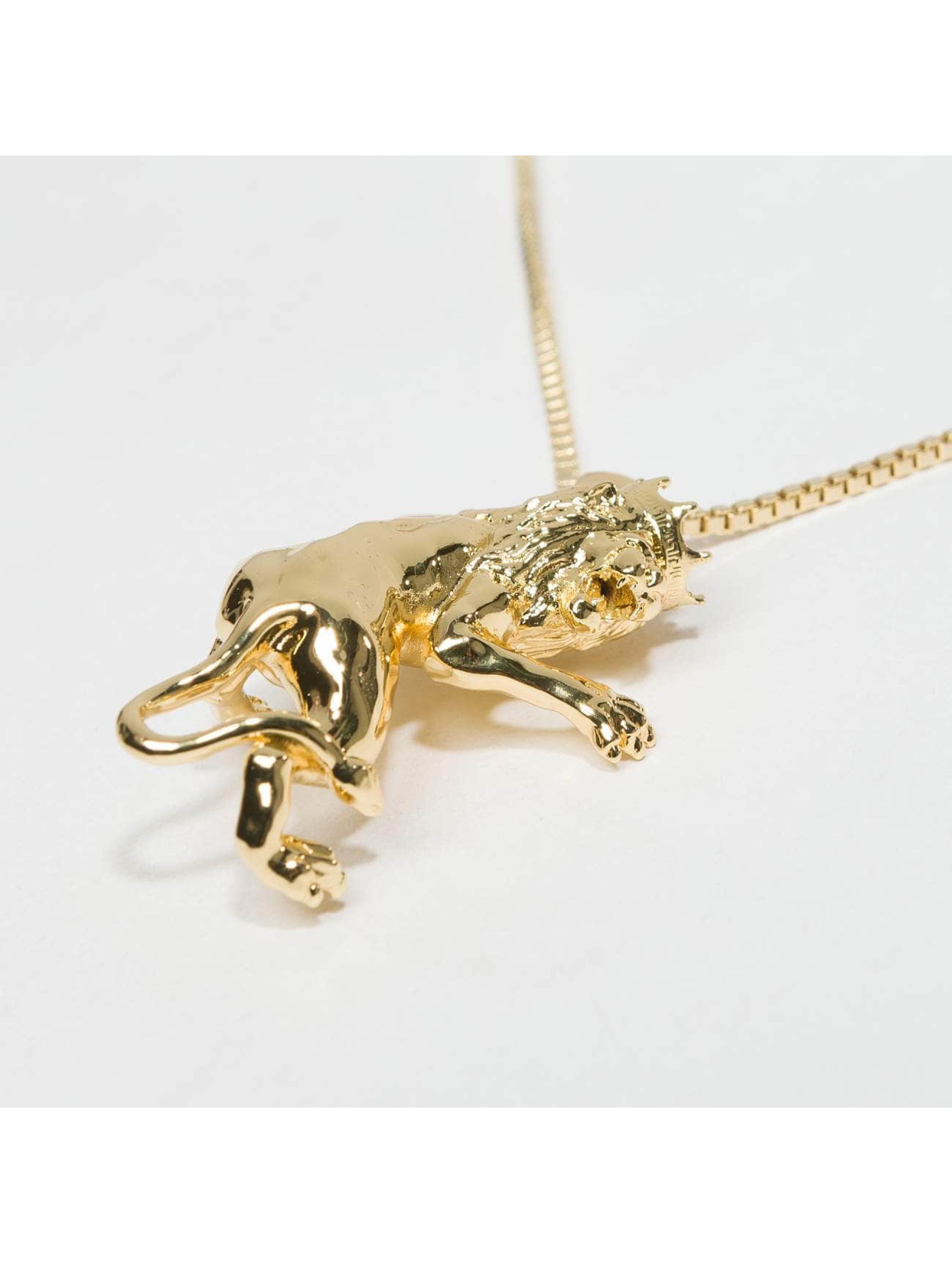 KING ICE Collier JUNGL JULZ Gold_Plated or