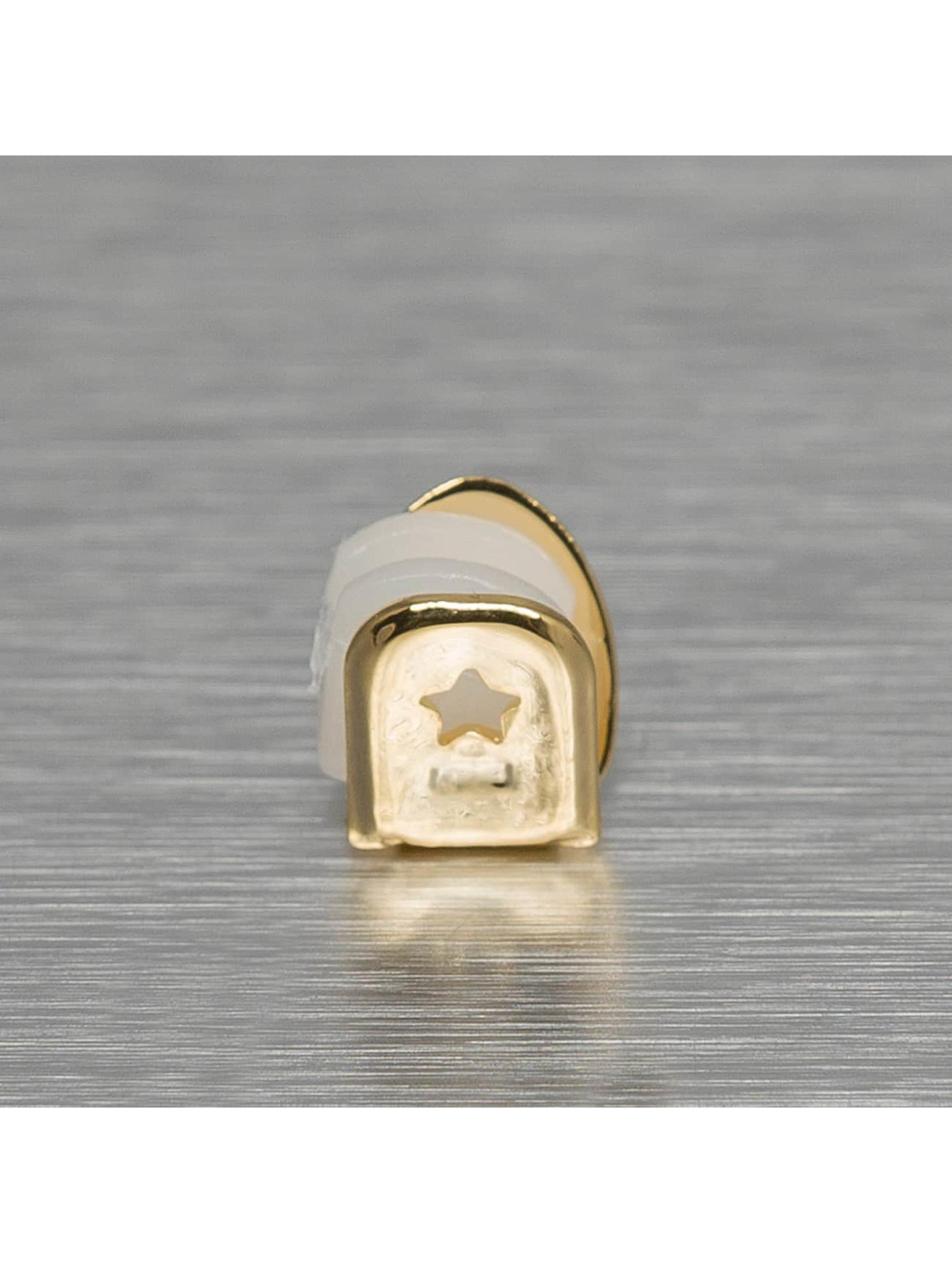 KING ICE Iné Single Tooth zlatá