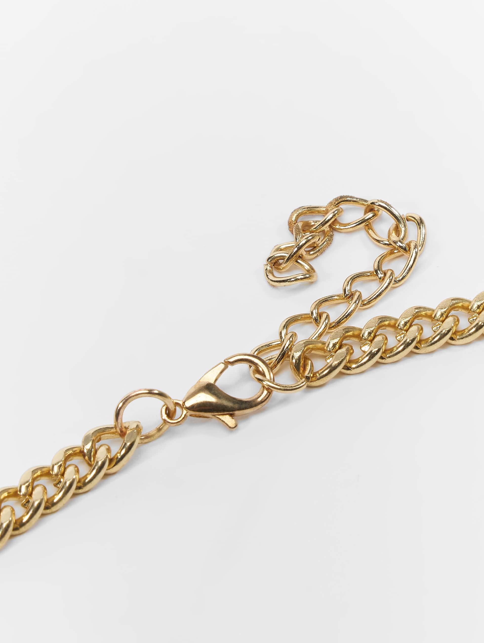 KING ICE Kette 100 Points Emoji goldfarben