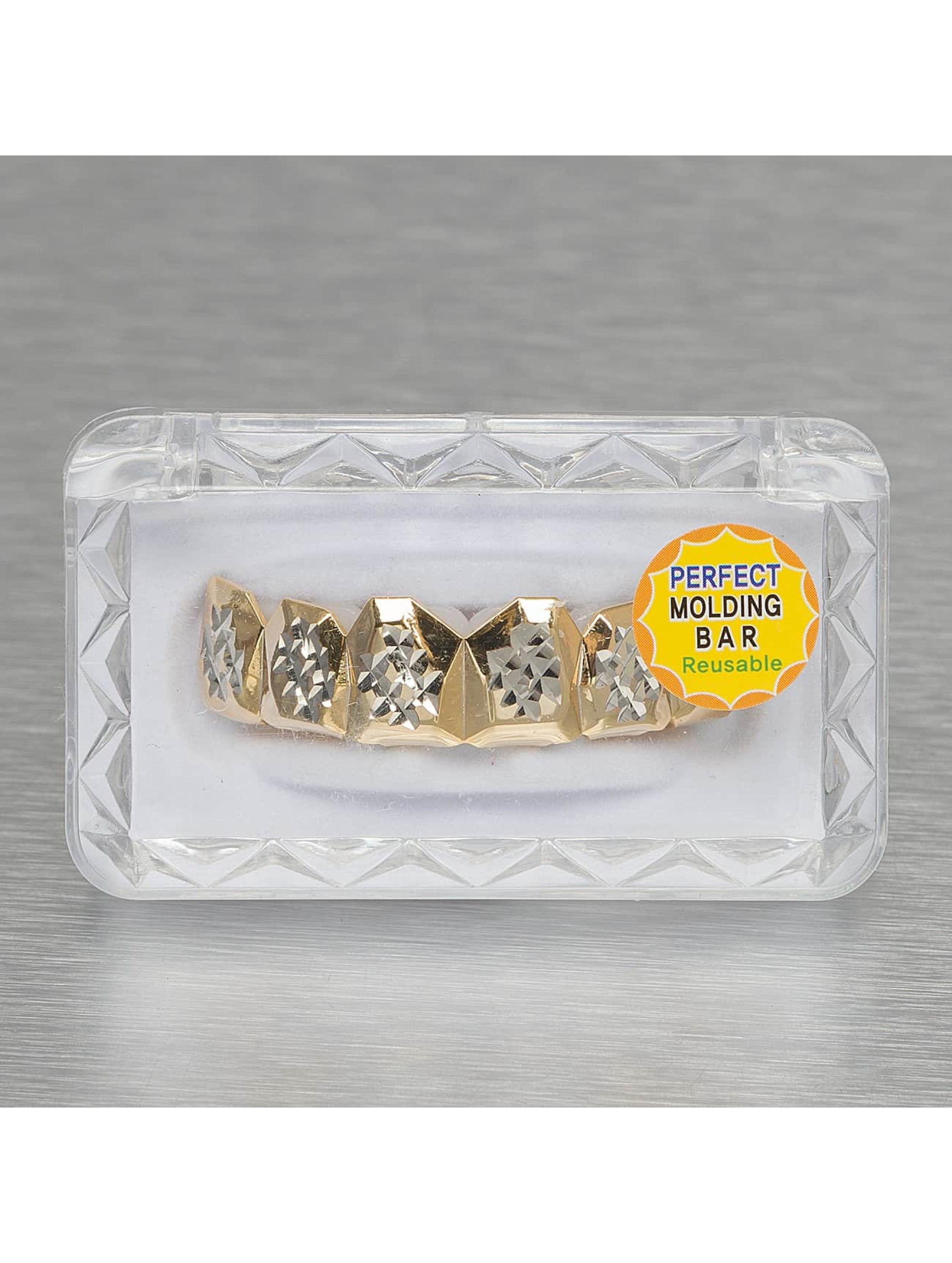 KING ICE More Diamond Cut gold colored