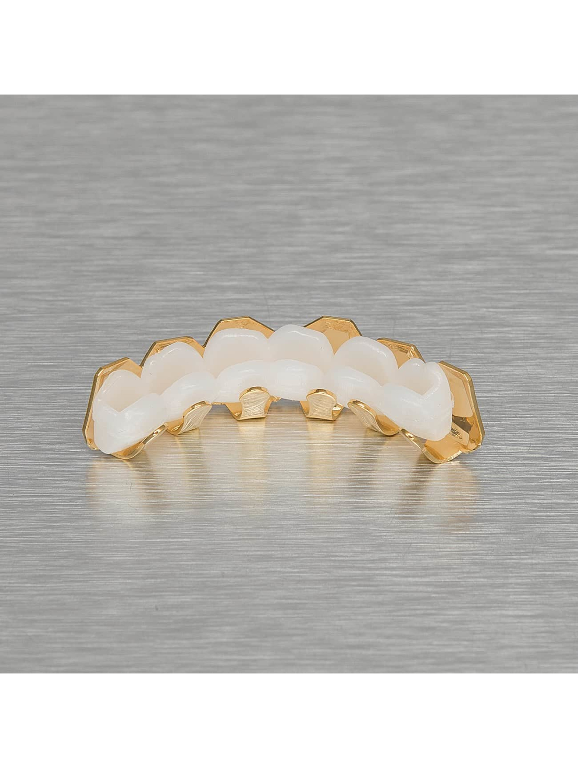 KING ICE More Plain Bevel Edge gold colored