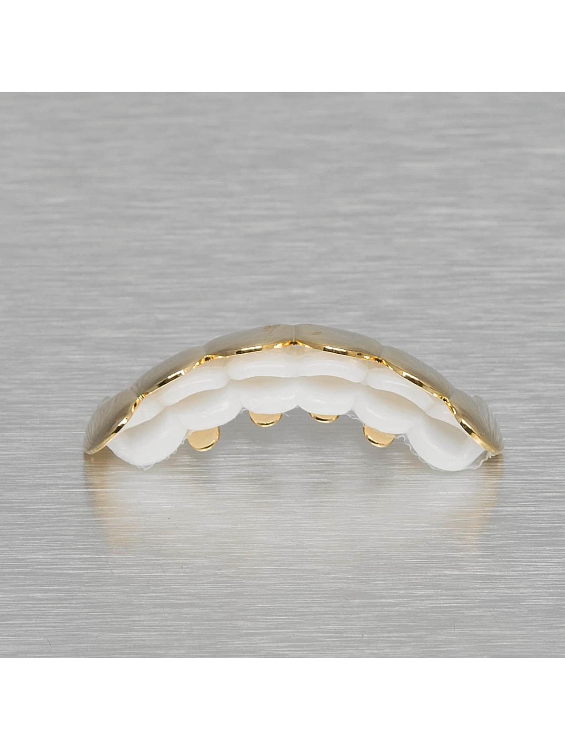 KING ICE More Spiked Fangs gold colored