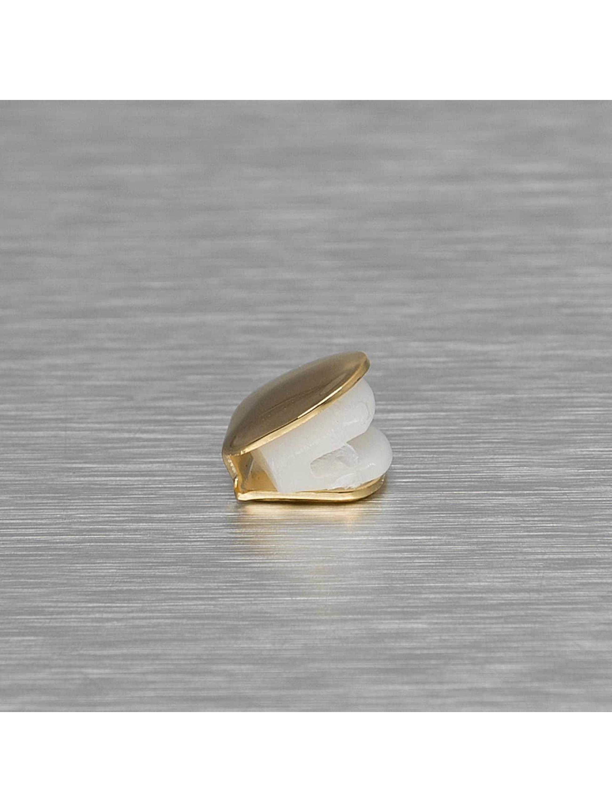 KING ICE Pozostałe Single Tooth zloty