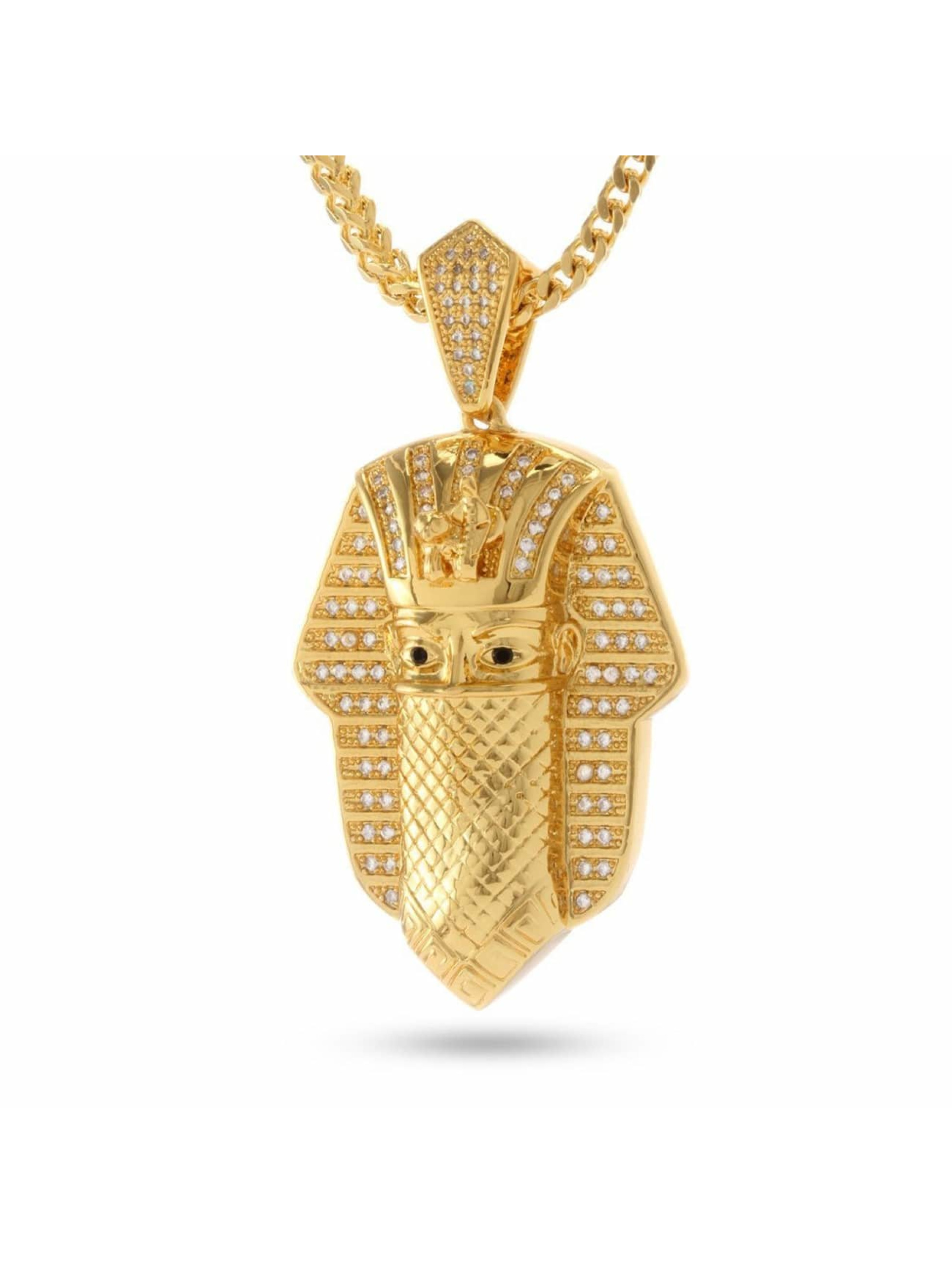 KING ICE Retiazky Bandana Pharaoh zlatá