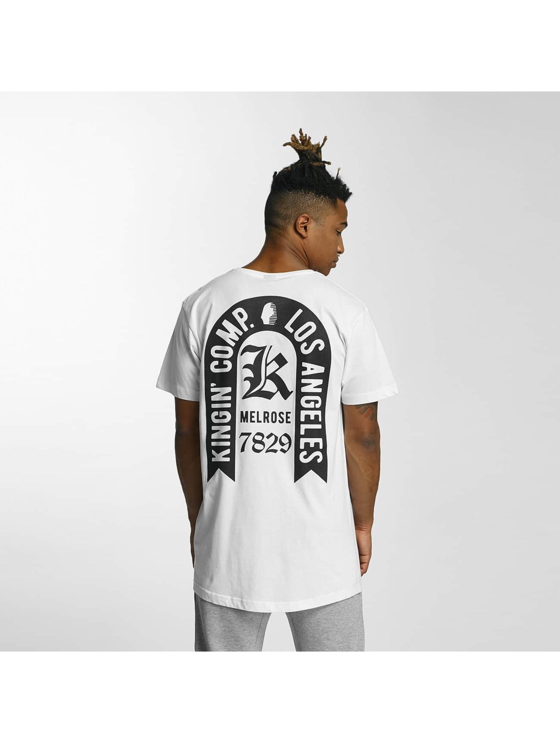 Kingin Camiseta Comp. blanco