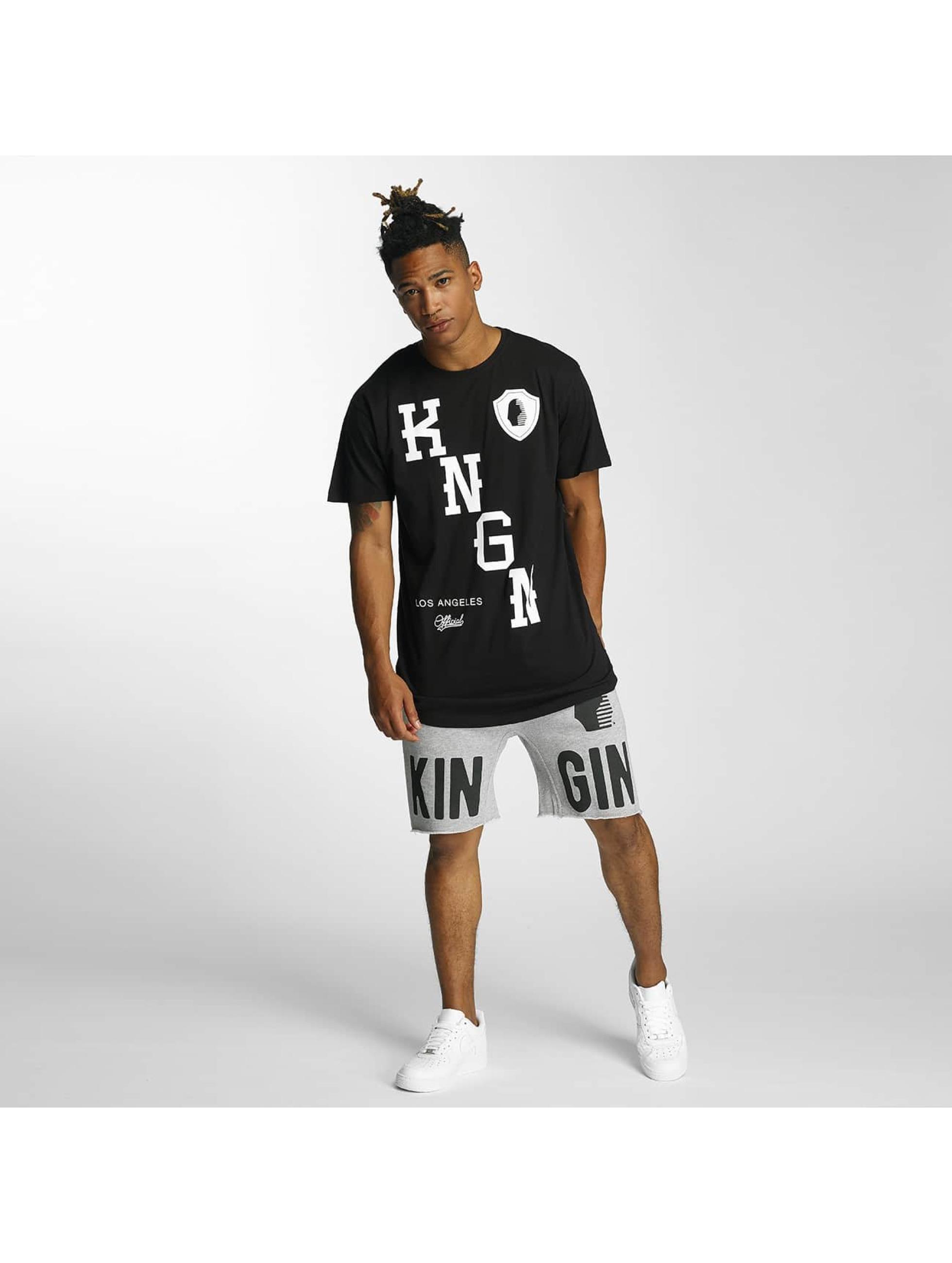 Kingin Camiseta KNGN negro