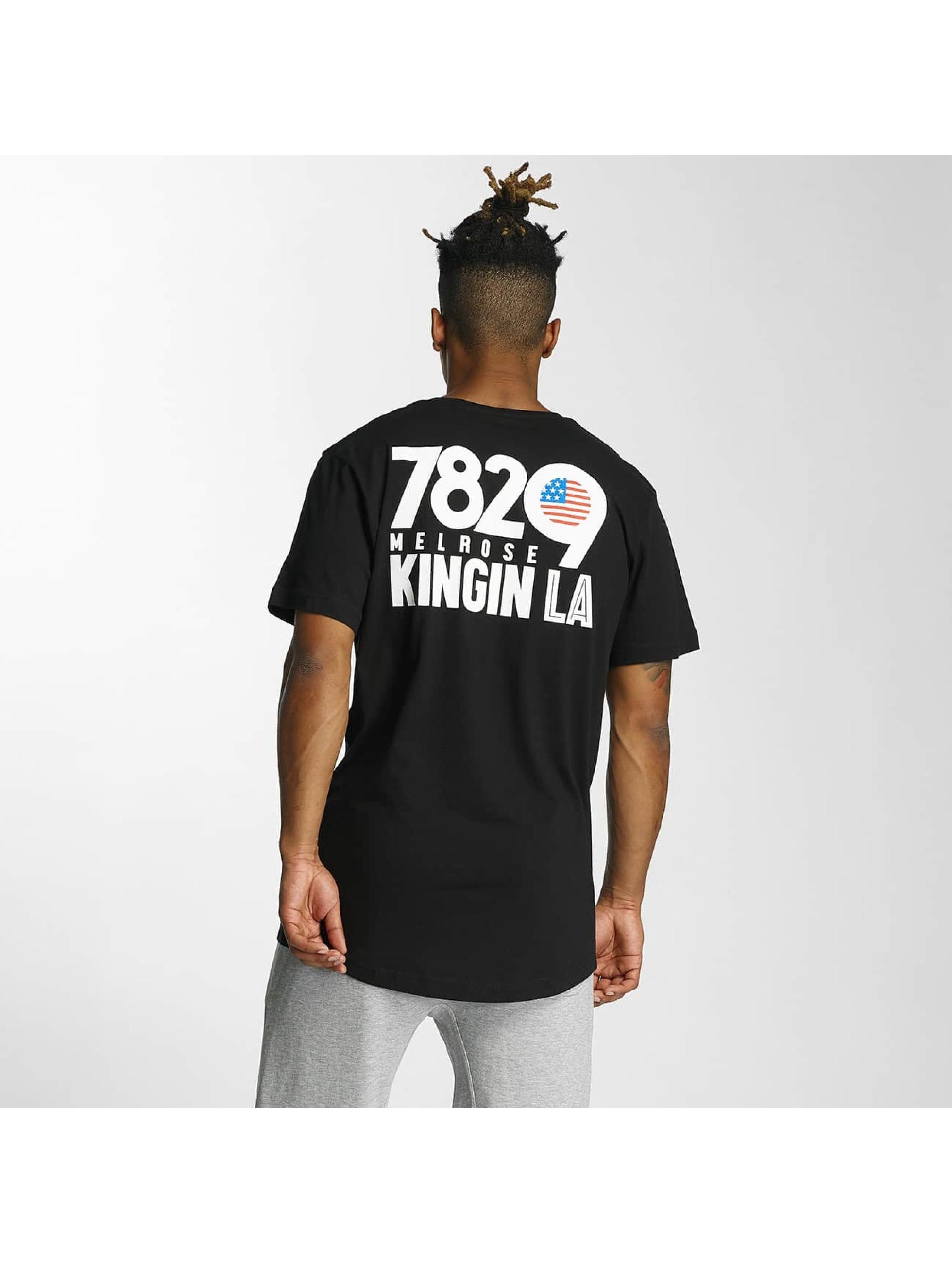Kingin Camiseta Melrose negro