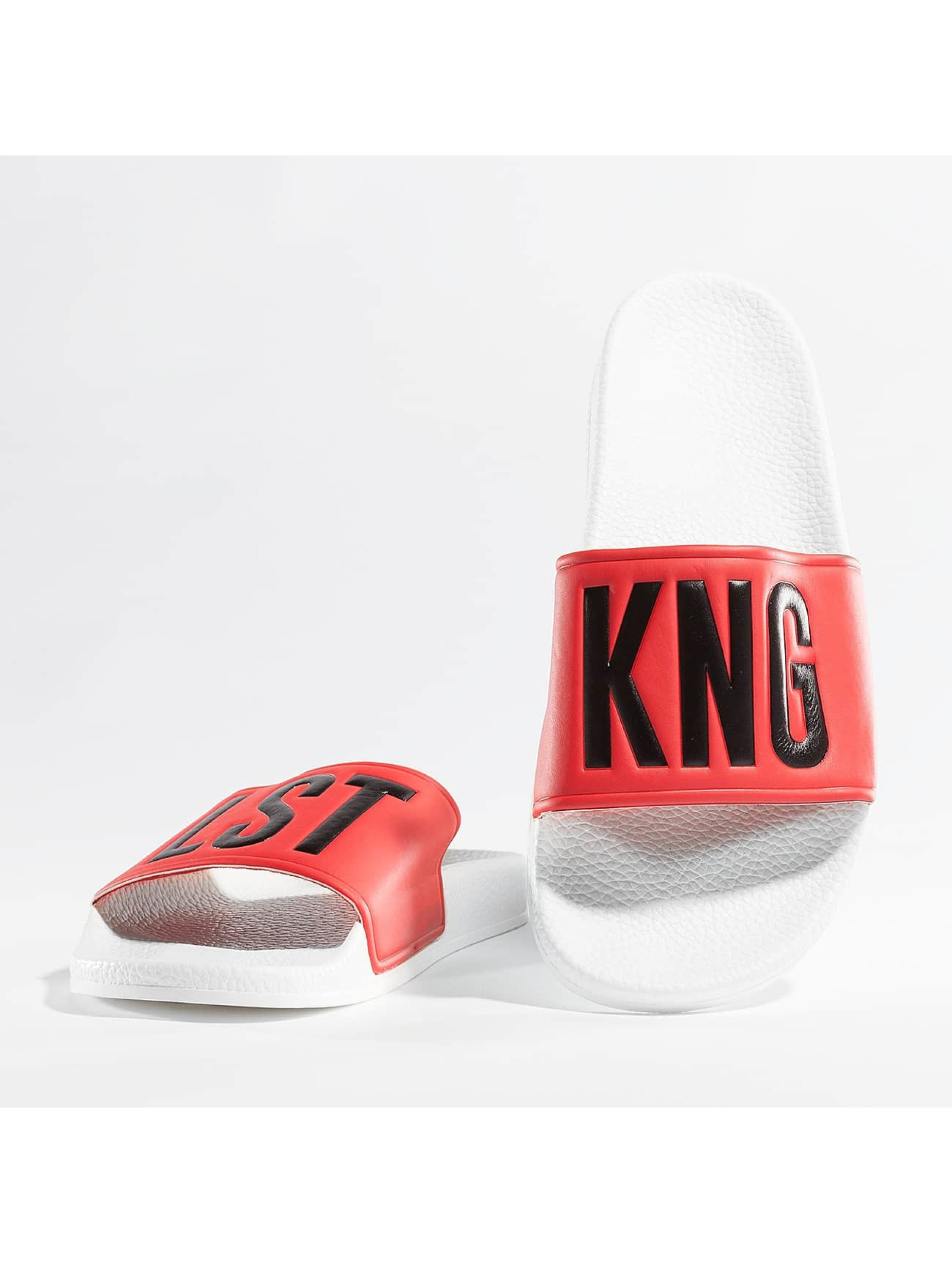 Kingin Claquettes & Sandales King rouge