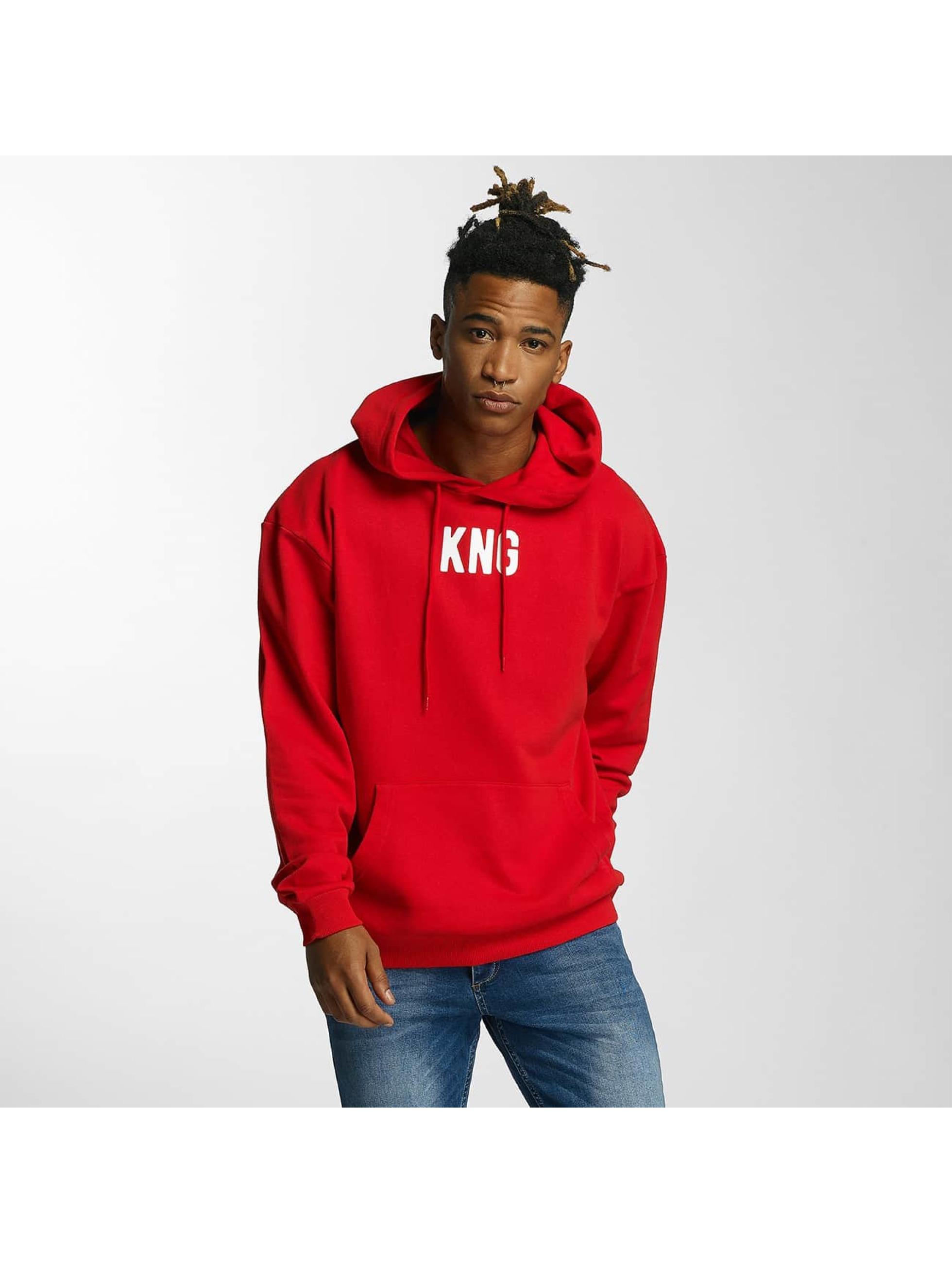 Kingin Hoodies Melrose červený