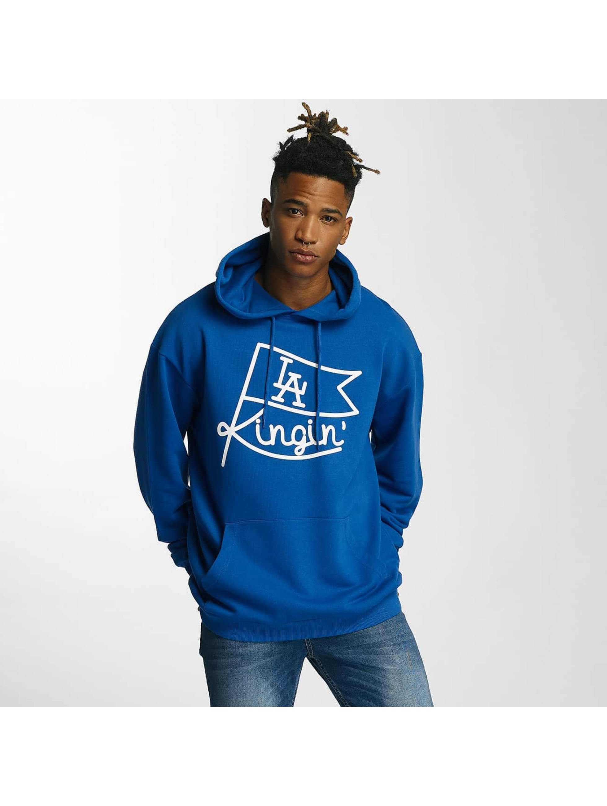 Kingin Hoodies Flag modrý