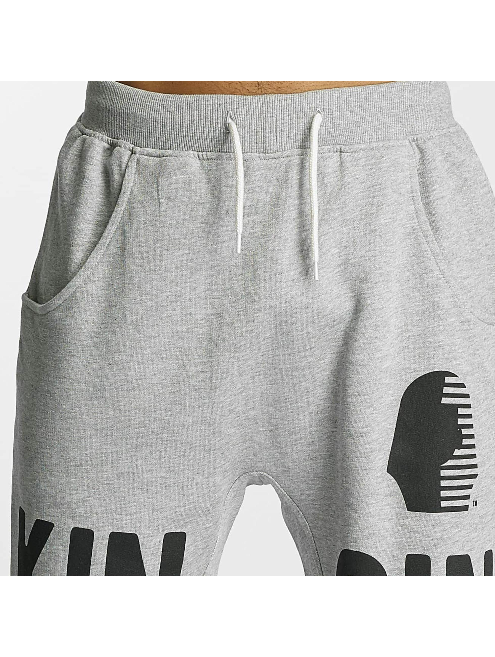 Kingin Pantalón cortos Anubis gris