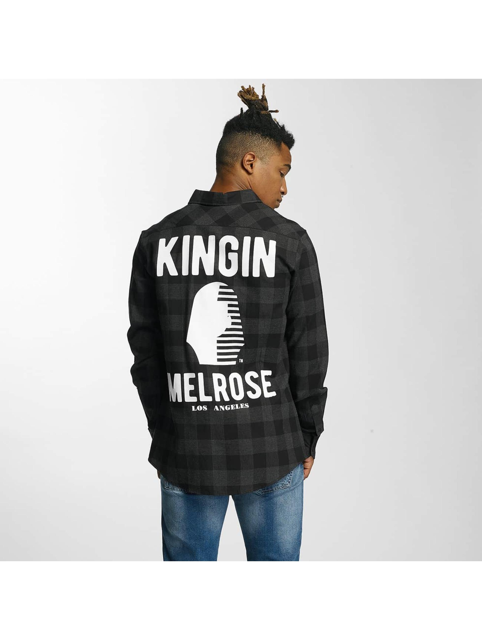 Kingin Skjorte Melrose grå