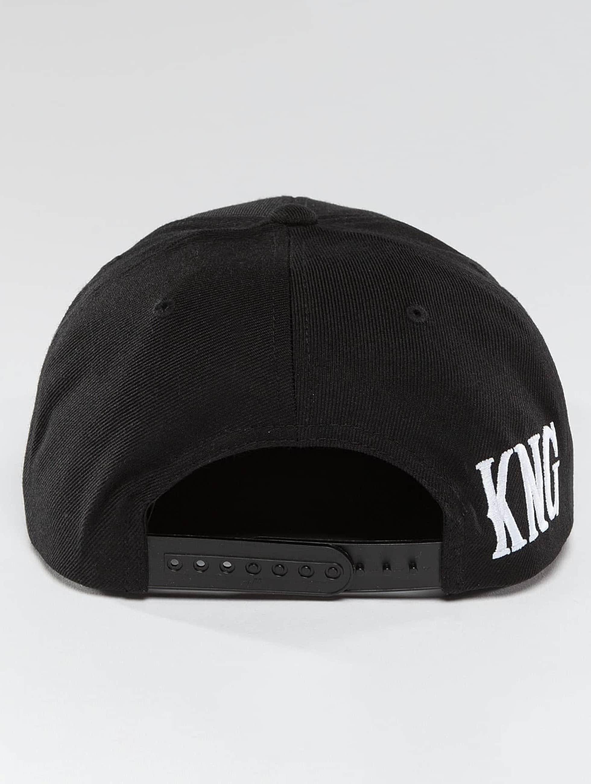 Kingin Snapback Cap Logo nero