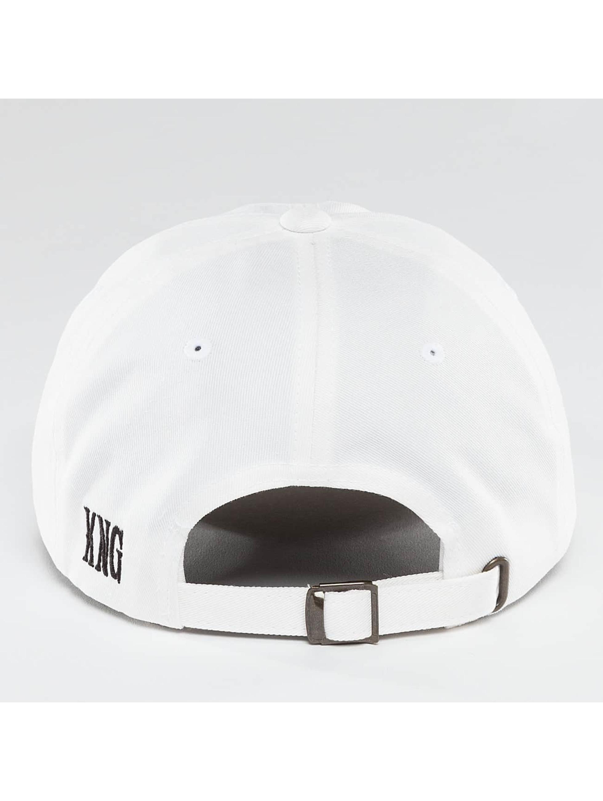 Kingin Snapback Caps OG bialy